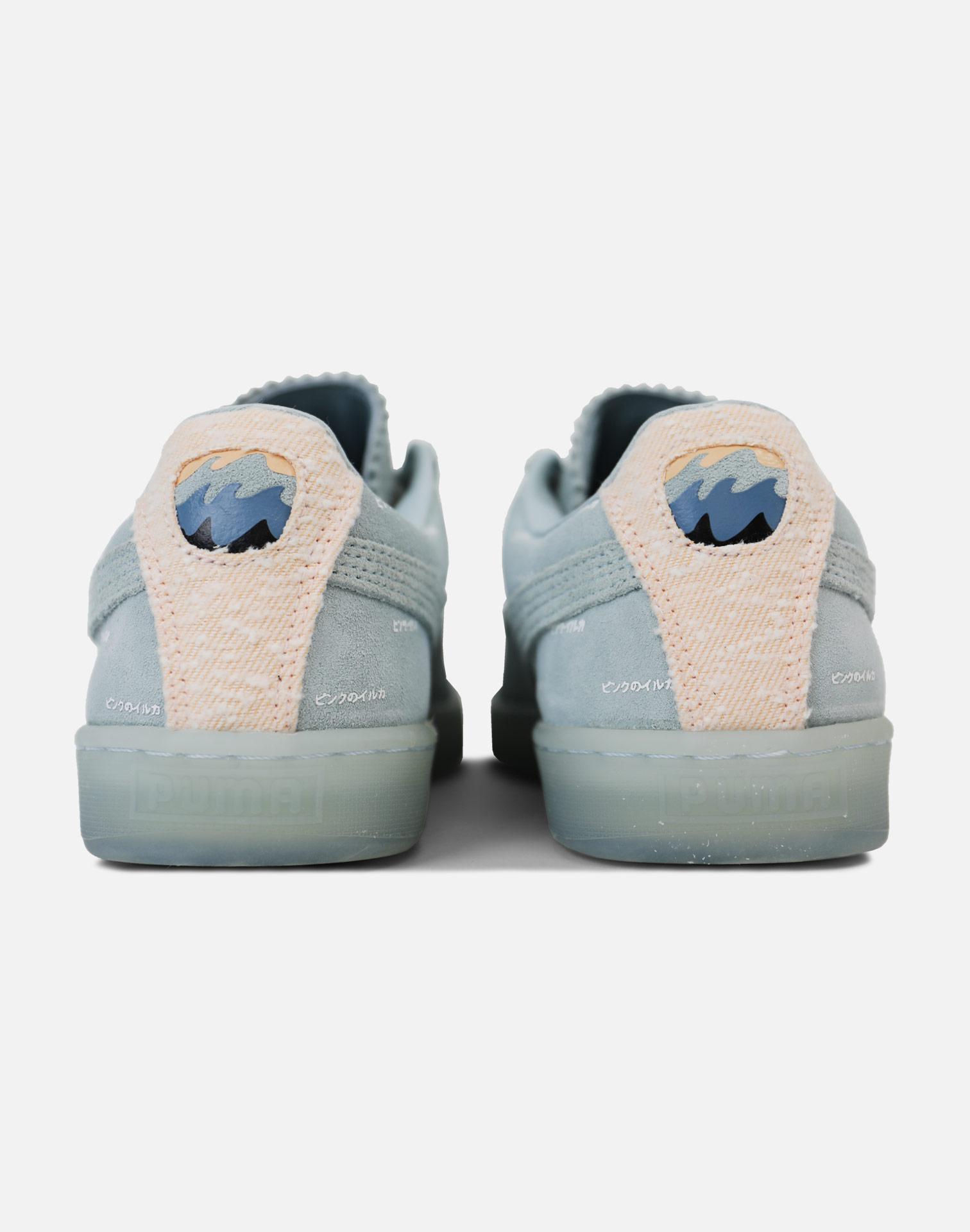 212f5f9683afaf Lyst - Puma X Pink Dolphin Suede-blue in Blue