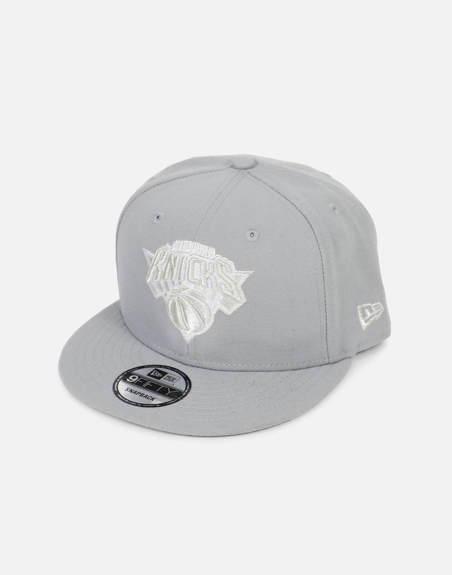 wholesale dealer cc229 d44a3 KTZ - Gray New York Knicks  pure Money  Snapback Hat for Men - Lyst. View  fullscreen