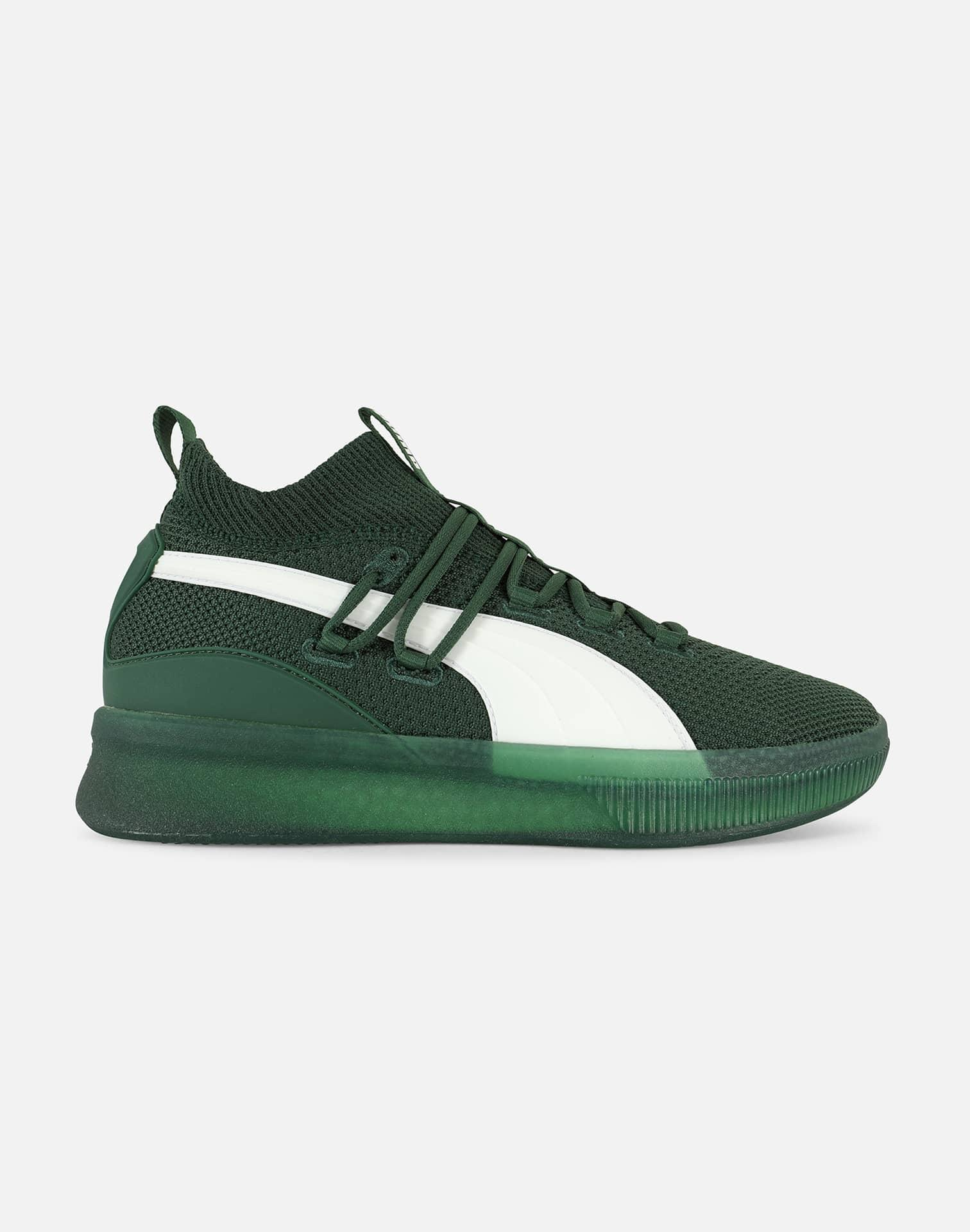 PUMA Rubber Clyde Court Gw in Green for