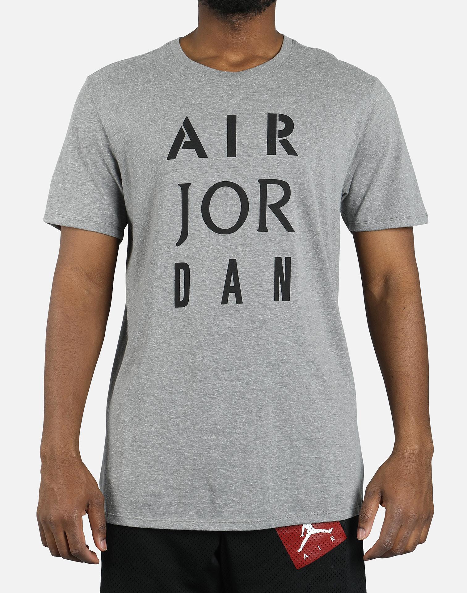 6b533e3dc9d20a Lyst - Nike Jsw Hbr Air Stencil Tee in Gray for Men