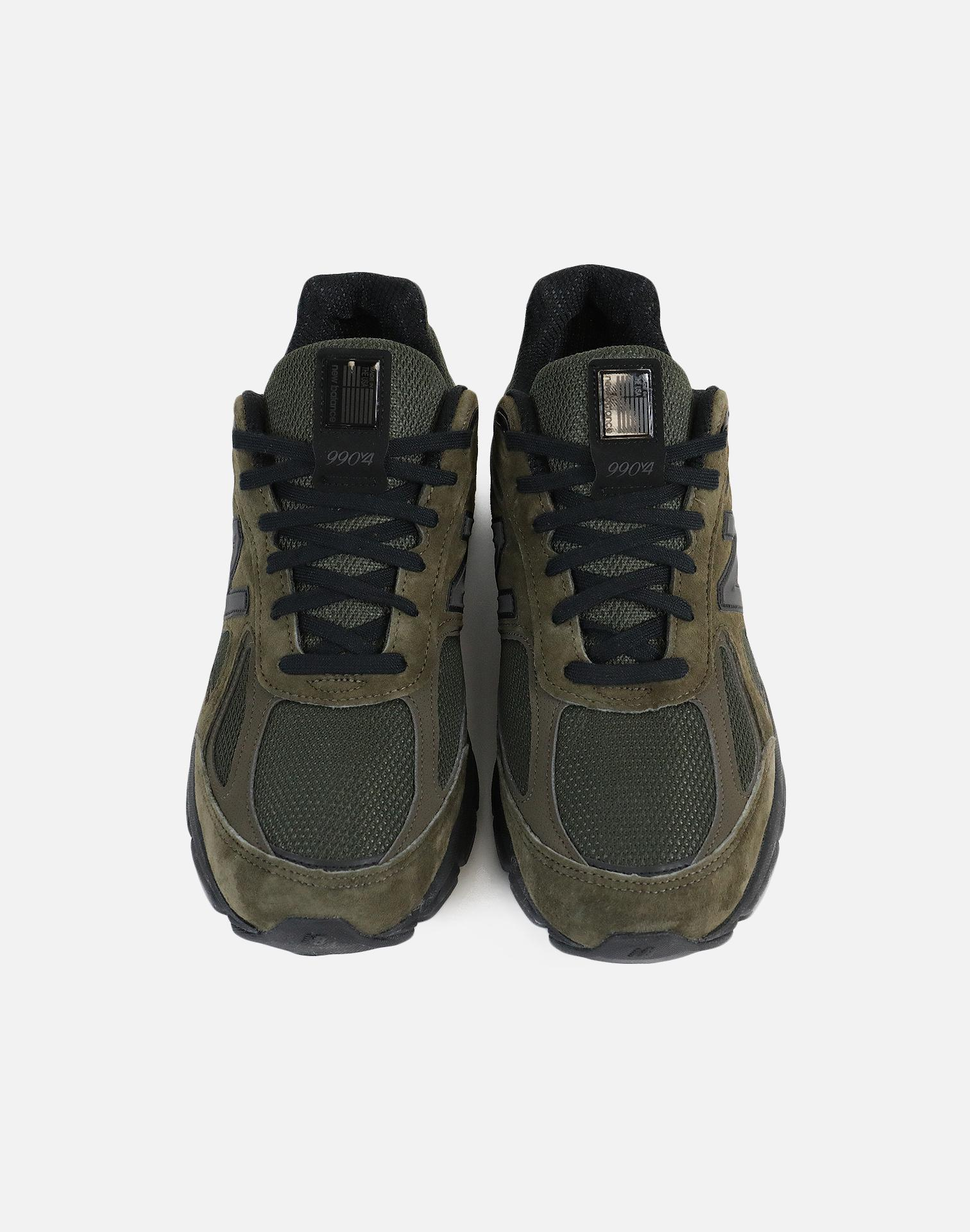 New Balance Leather 990-olive Green