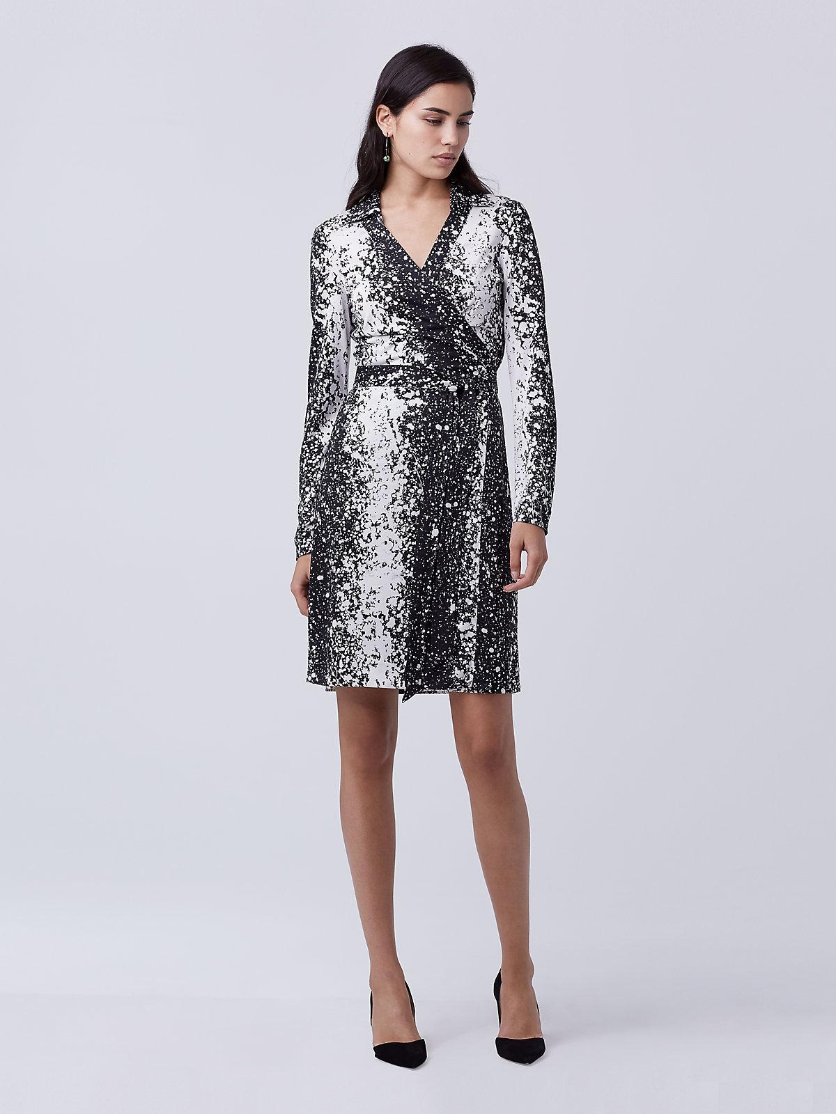 Lyst Diane Von Furstenberg New Jeanne Two Wrap Dress In