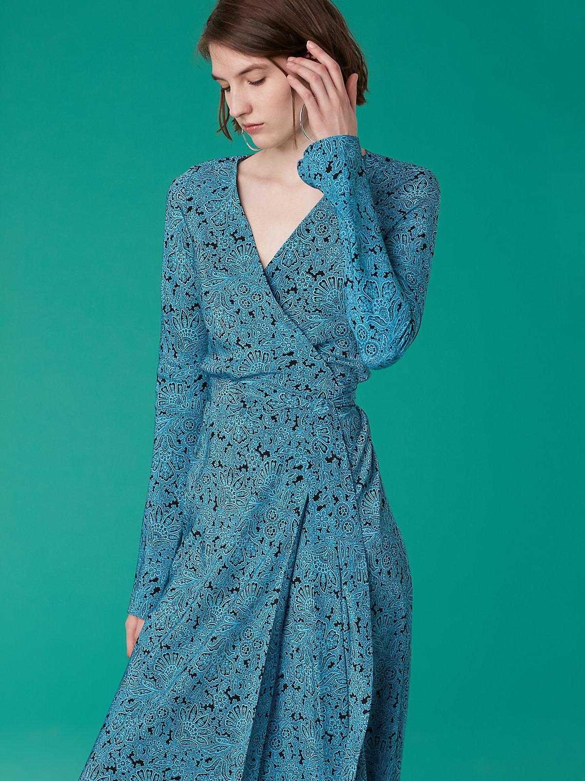 太美了!DvF等品牌裹身裙, 印花裙低至2折!