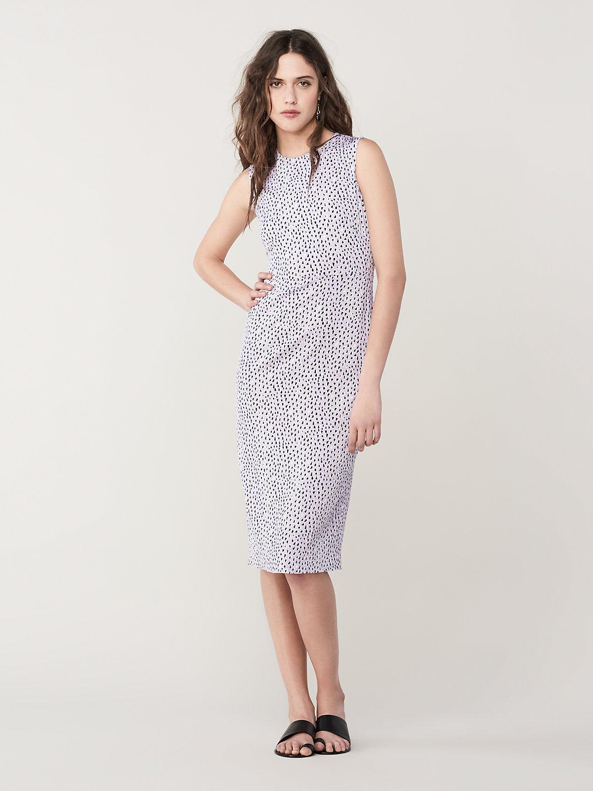 9a9966969d5 Diane von Furstenberg. Women's Alina Slim Midi Dress