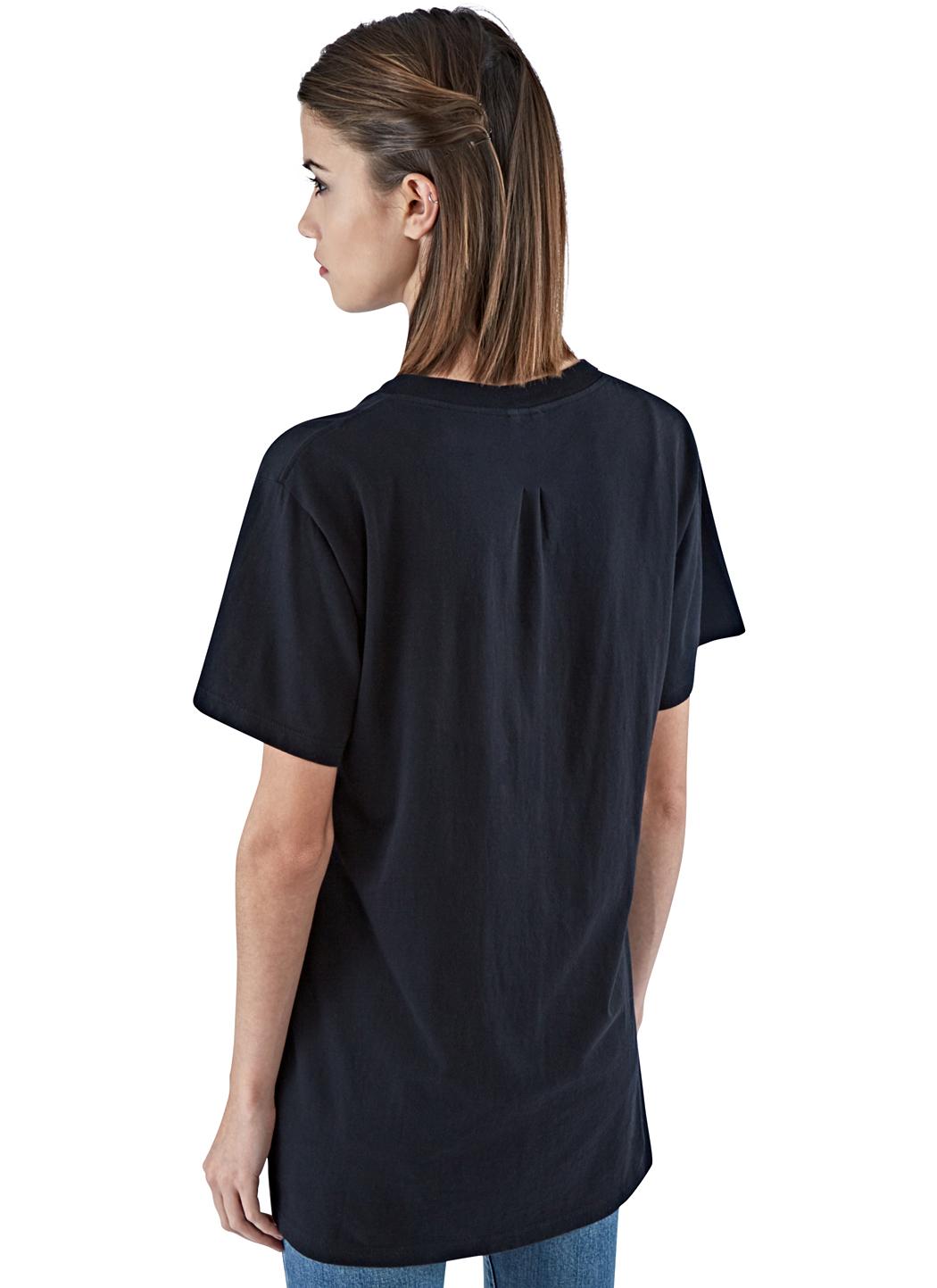 lyst saint laurent t shirt in black. Black Bedroom Furniture Sets. Home Design Ideas