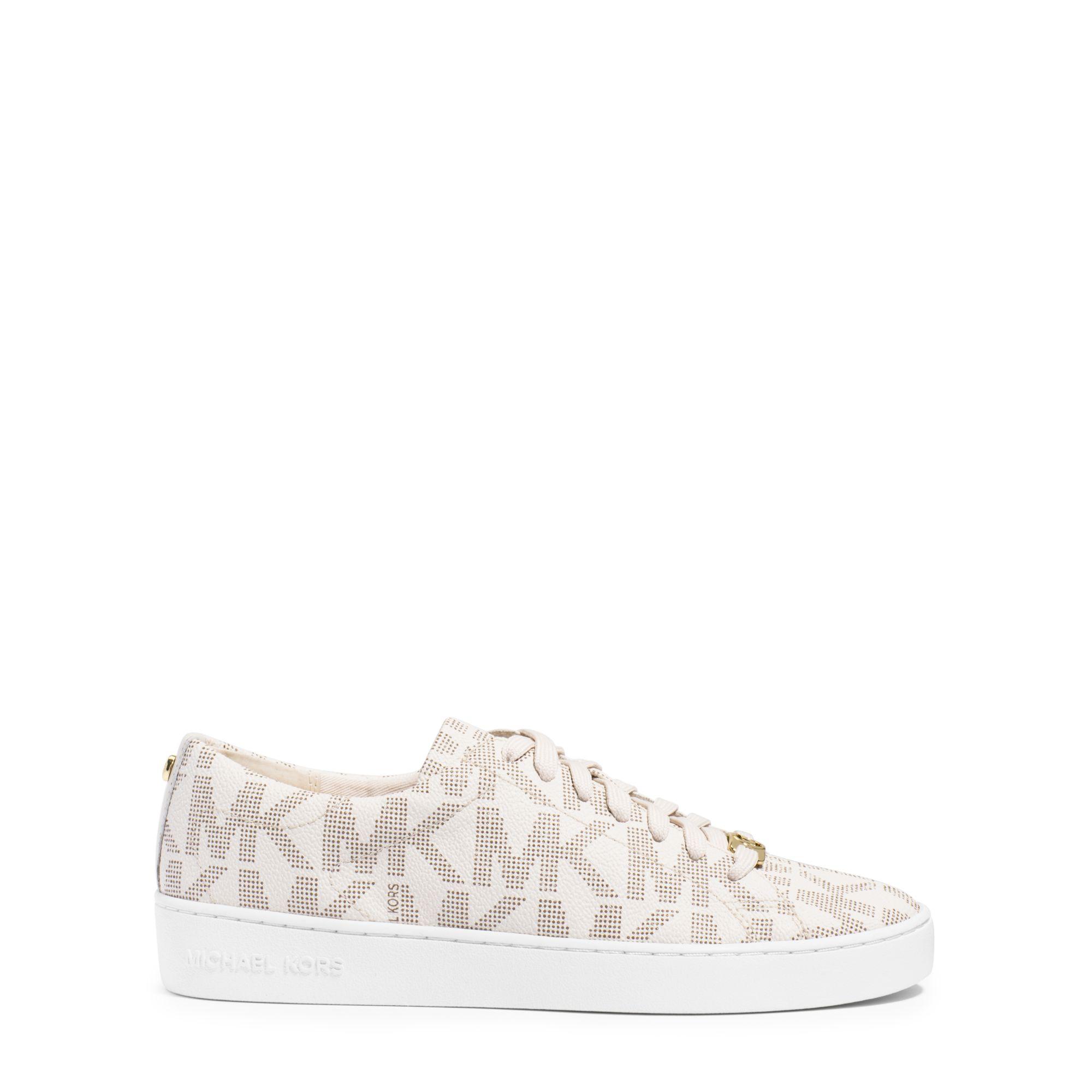 177d9672153 Michael Kors Keaton Logo Sneaker in White - Lyst