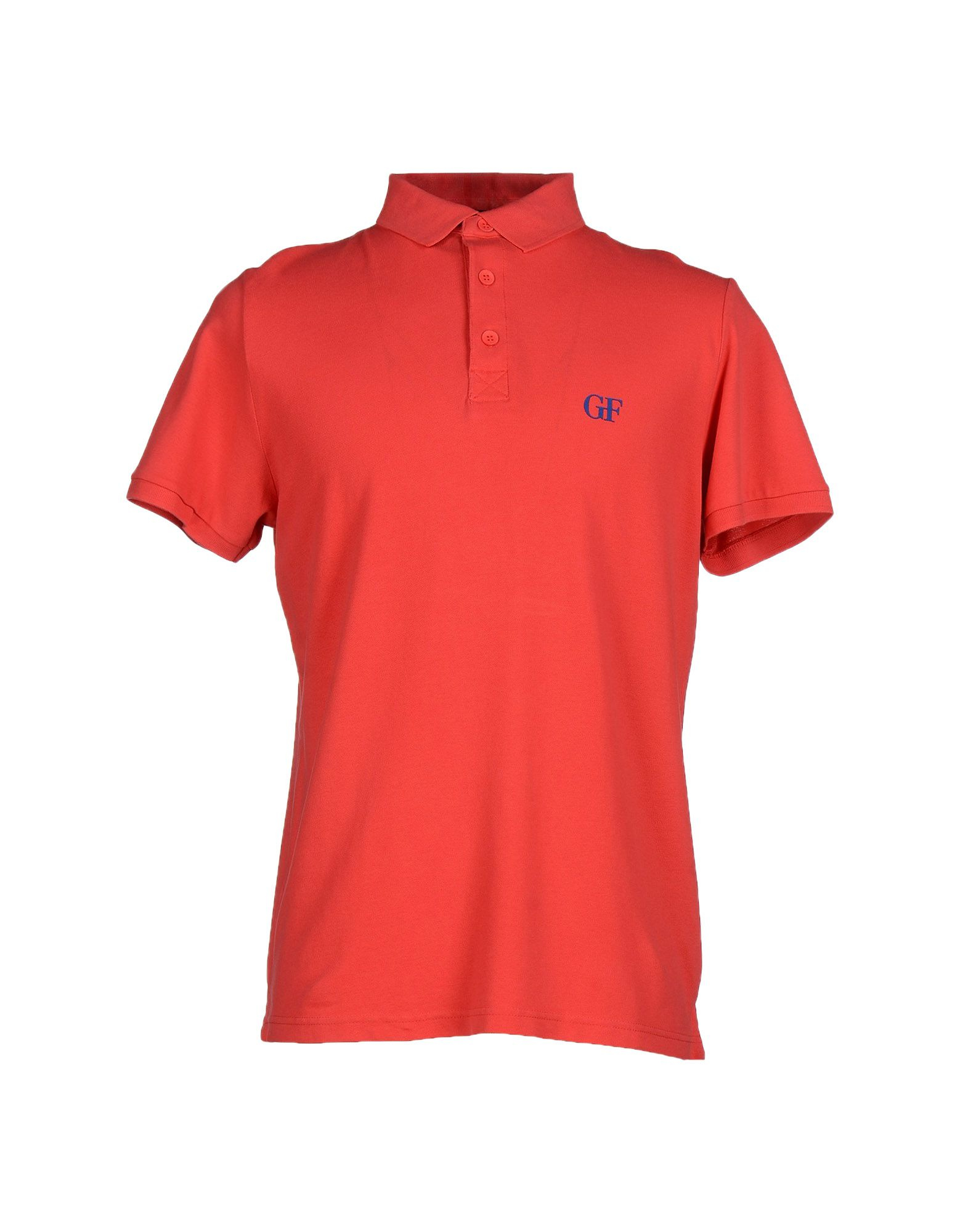 Gianfranco ferr polo shirt in pink for men coral lyst for Coral shirts for guys