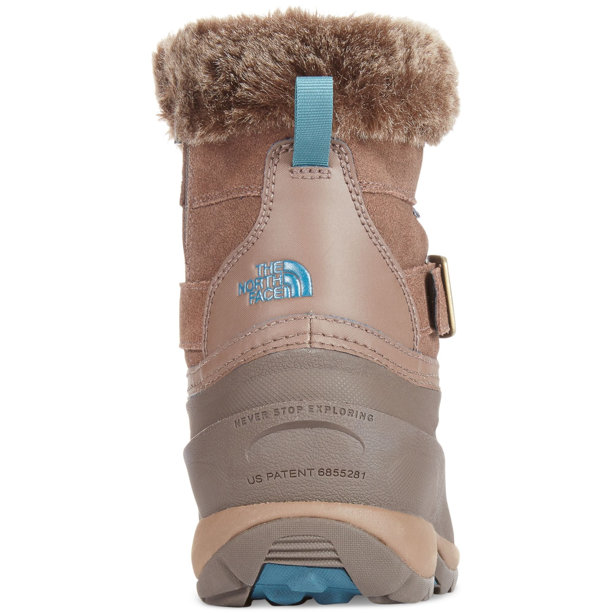 4bba2b55e The North Face Brown Womens Chilkat Iii Pull-on Boots