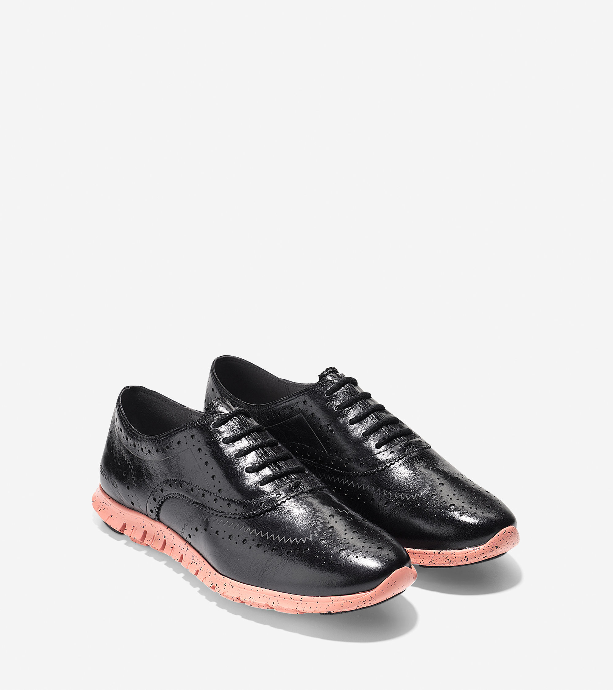 cole haan zer 248 grand leather oxford shoes in black lyst