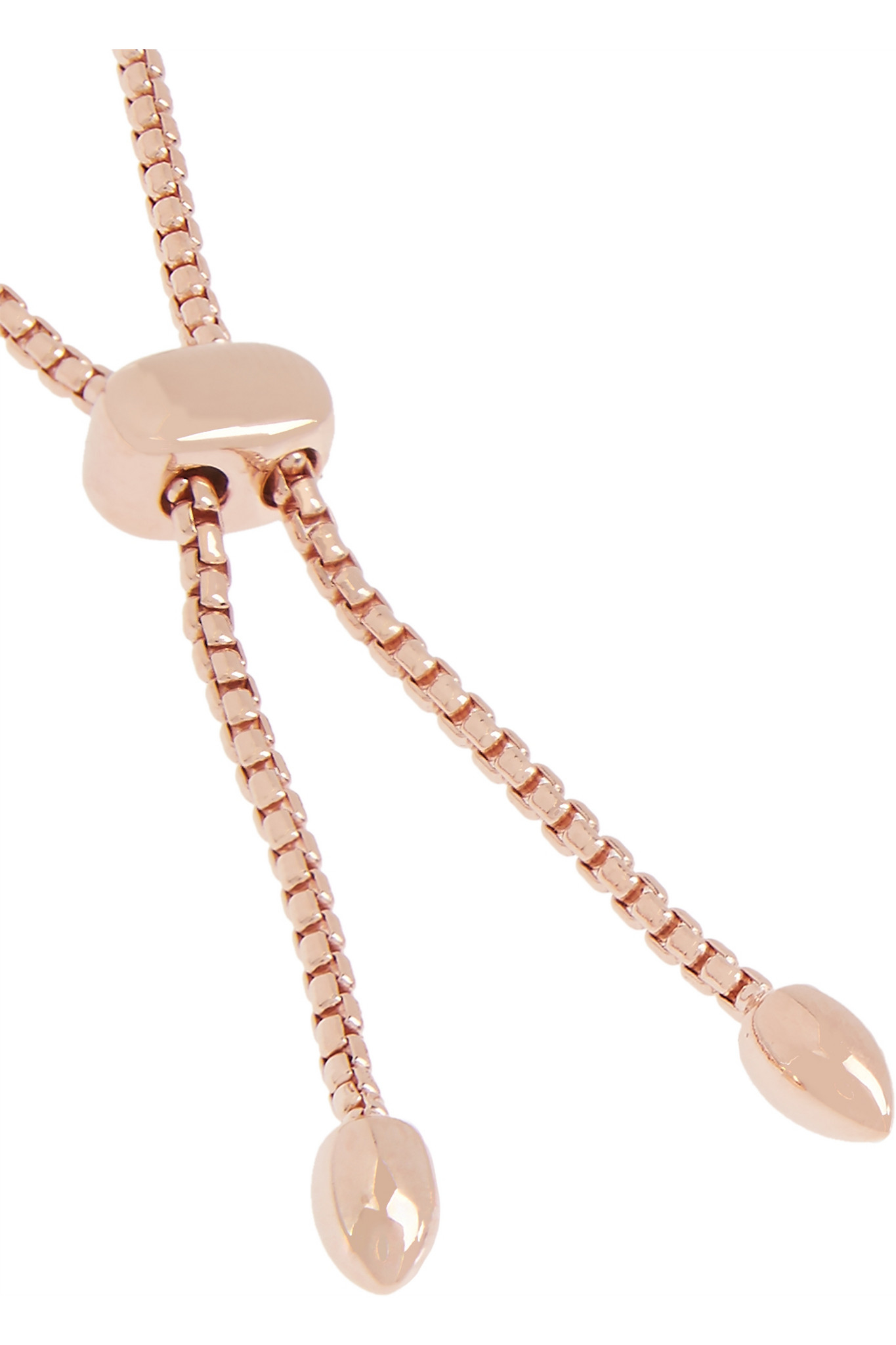 Diamond Anklet With Toe Ring Lc00035 In Anklets From: Monica Vinader Stellar Pave Mini Bar Rose Gold-plated