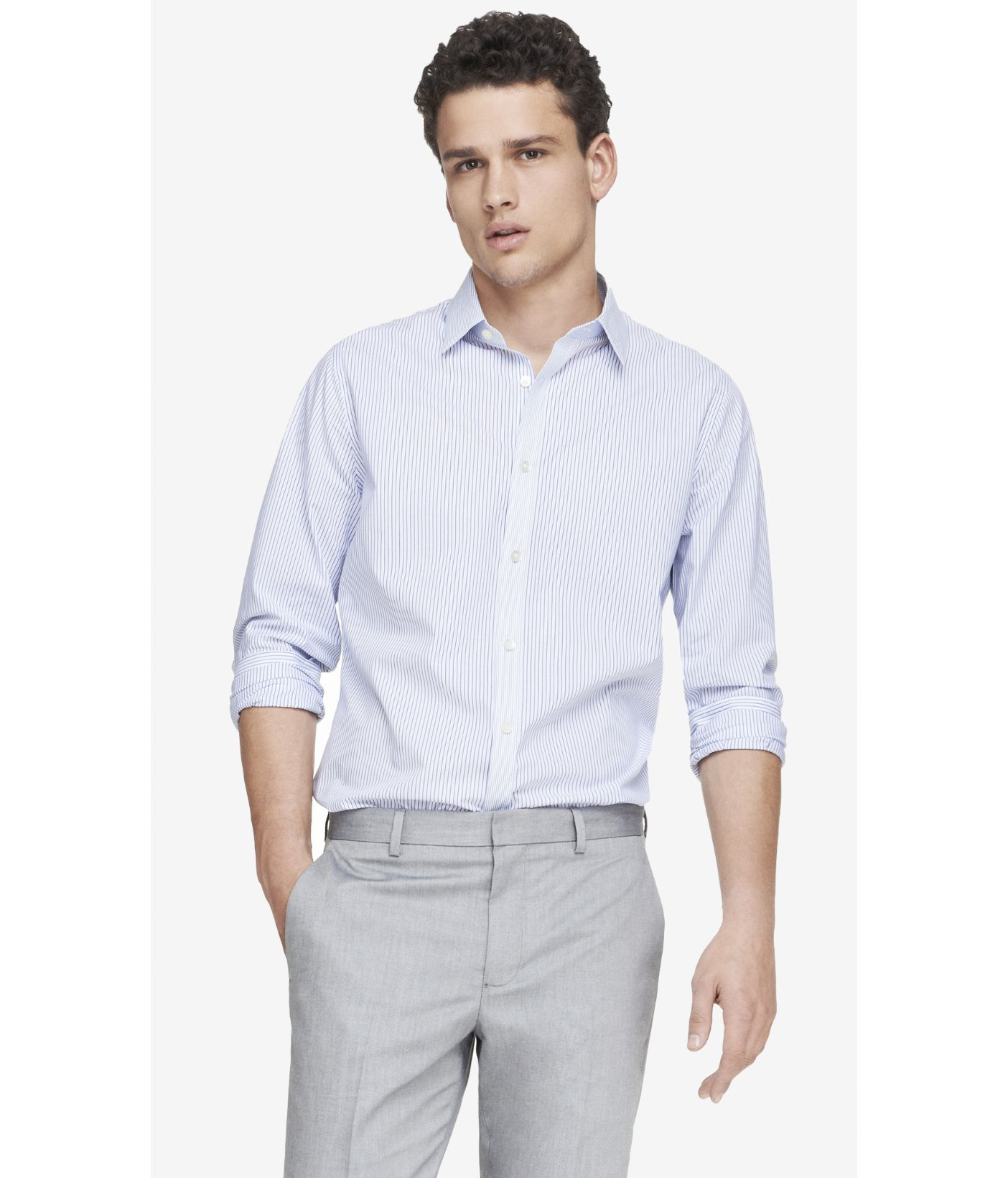 Slim Fit Dress Shirts for Men at Macy's come in a variety of styles and sizes. Shop top brands for Men's Dress Shirts and find the perfect fit today.