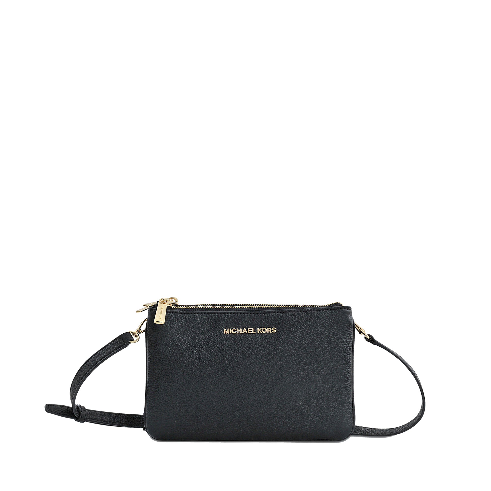 Michael kors Triple Compartment Bedford Bag in Black | Lyst