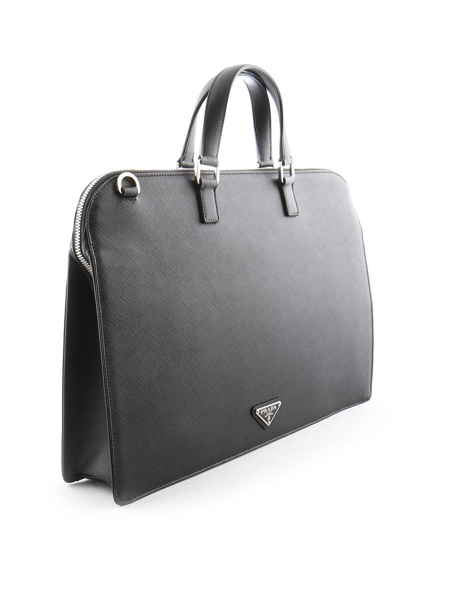 Prada Mens Bag In Black For Men Lyst