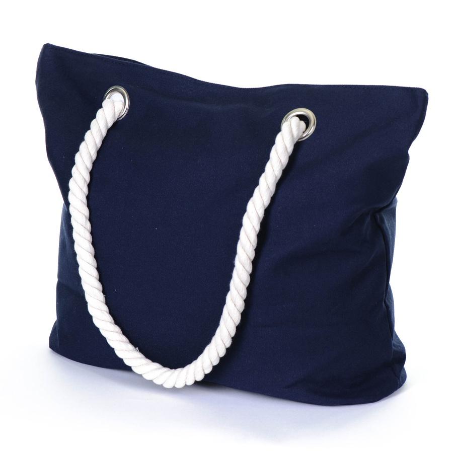 Black.co.uk Marine Navy Cotton Beach Bag in Blue | Lyst
