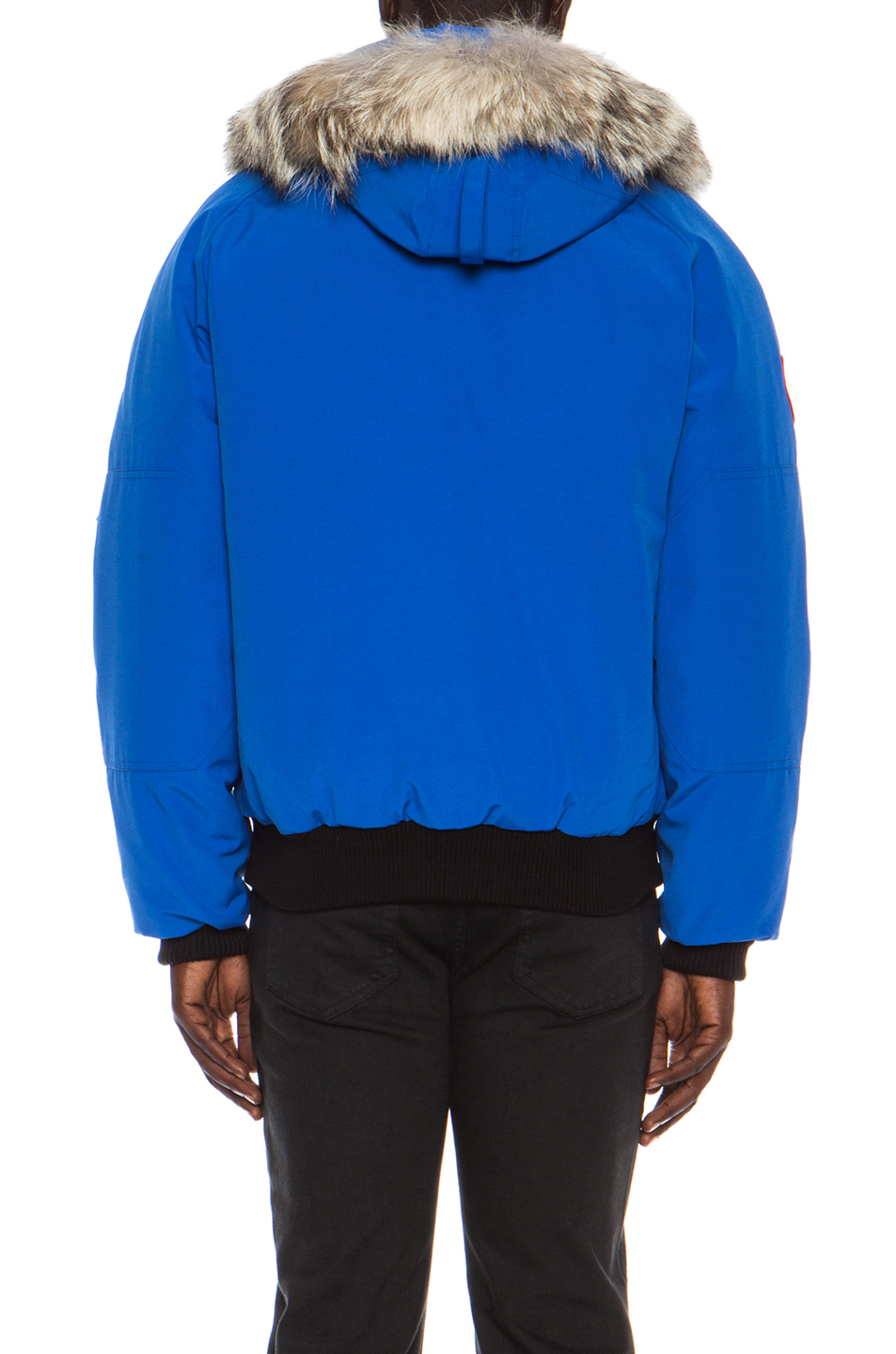 Canada Goose Pbi Chilliwack Polyblend Bomber In Blue For