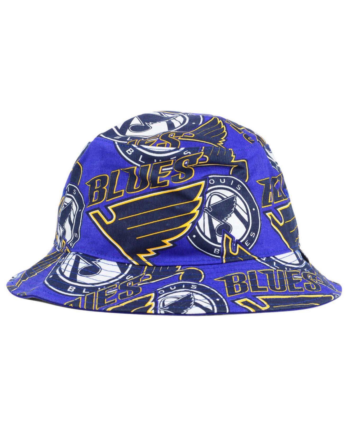 Lyst 47 Brand St Louis Blues Bucket Hat In Blue