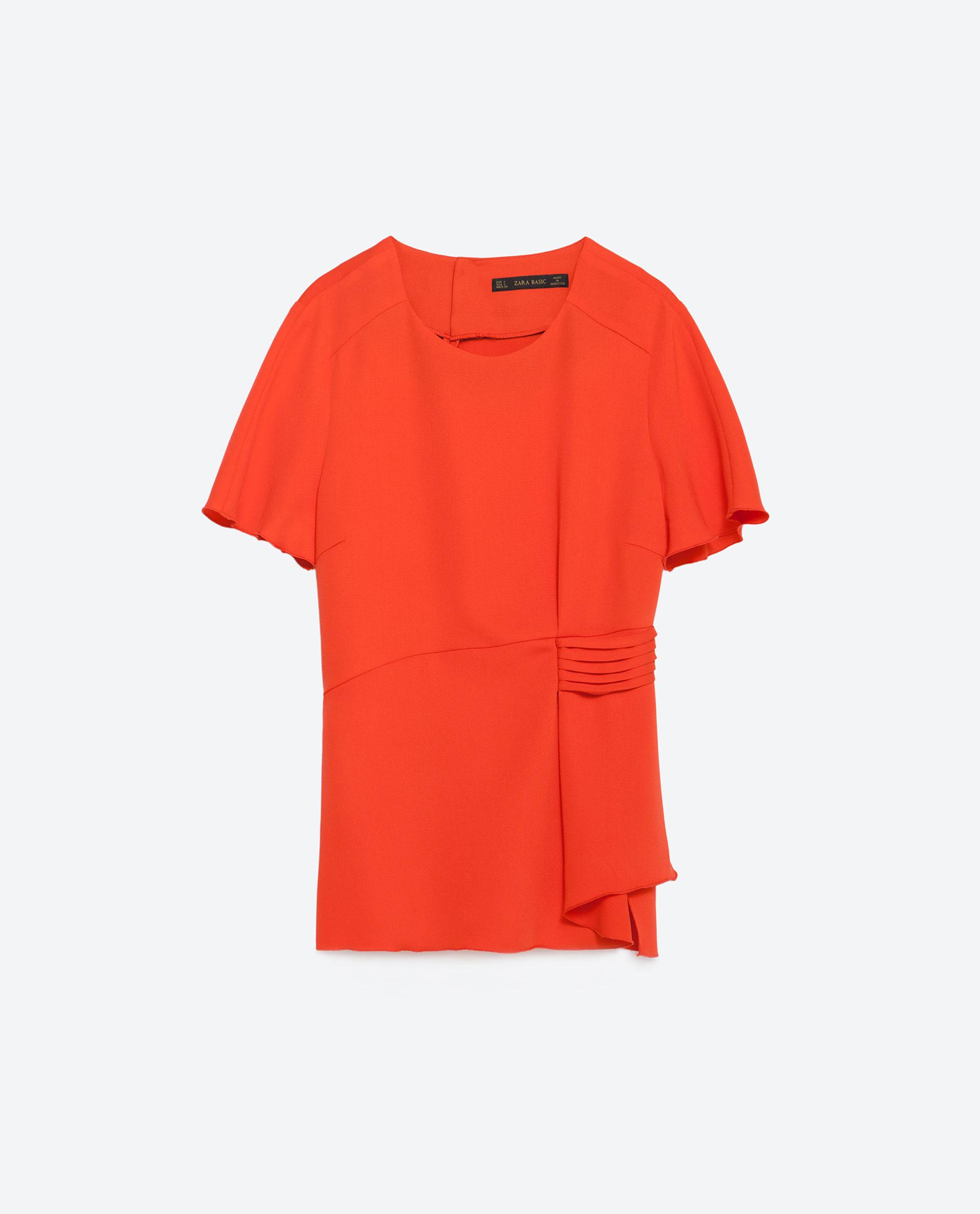 Zara Peplum Blouse 45