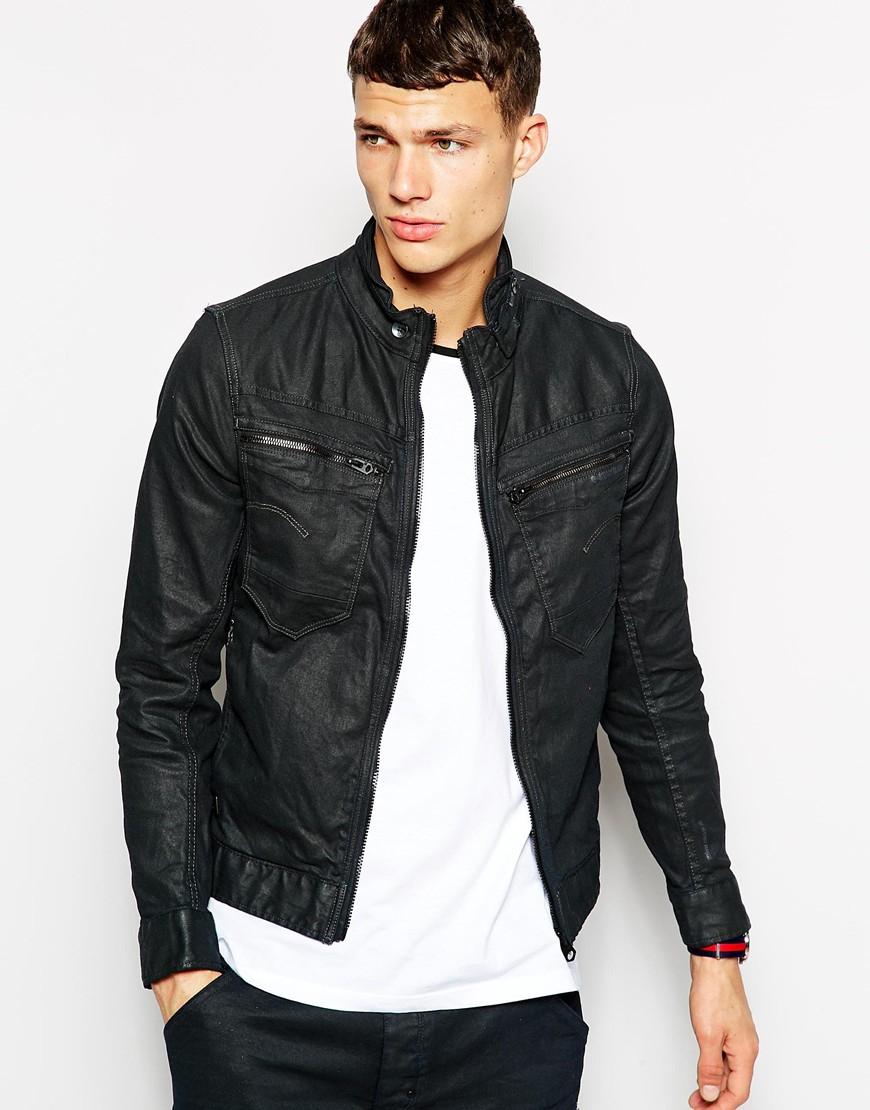 96191851dc68d Lyst - G-Star RAW G Star Denim Jacket New Riley Slim 3d Dark Aged ...