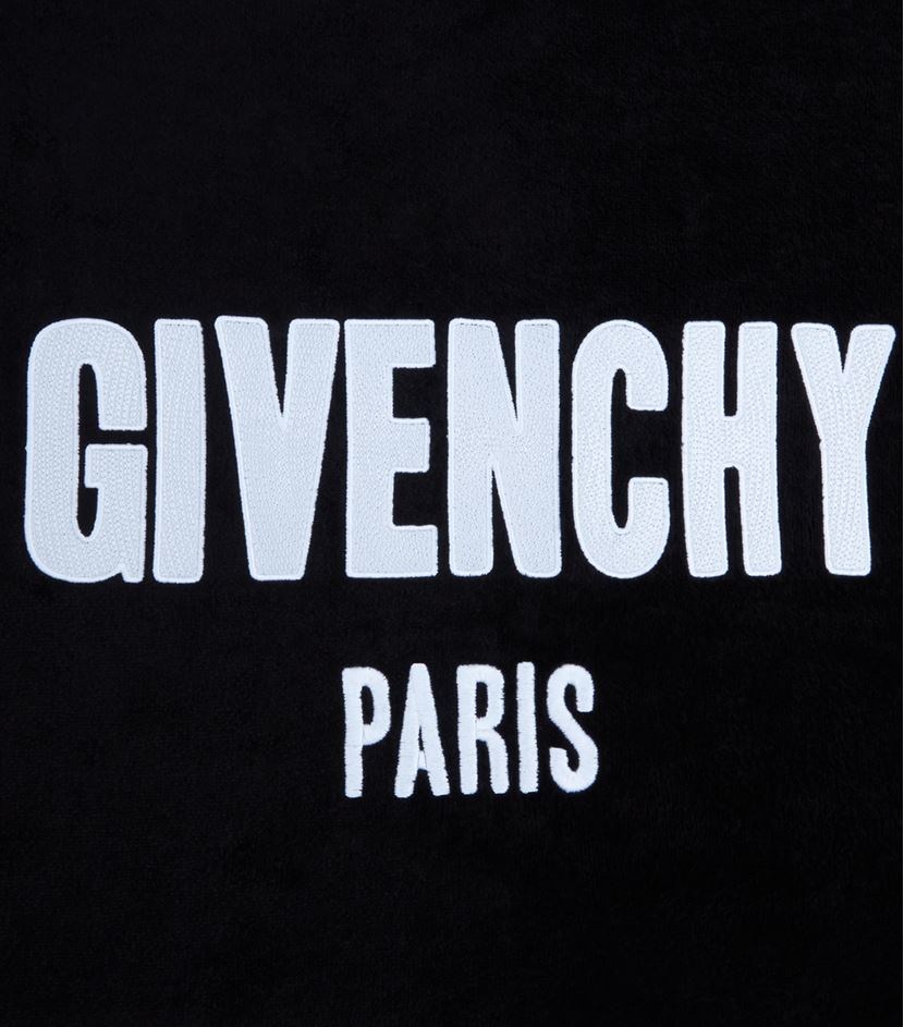 Givenchy Logo Embroidered Towel in Black for Men | Lyst