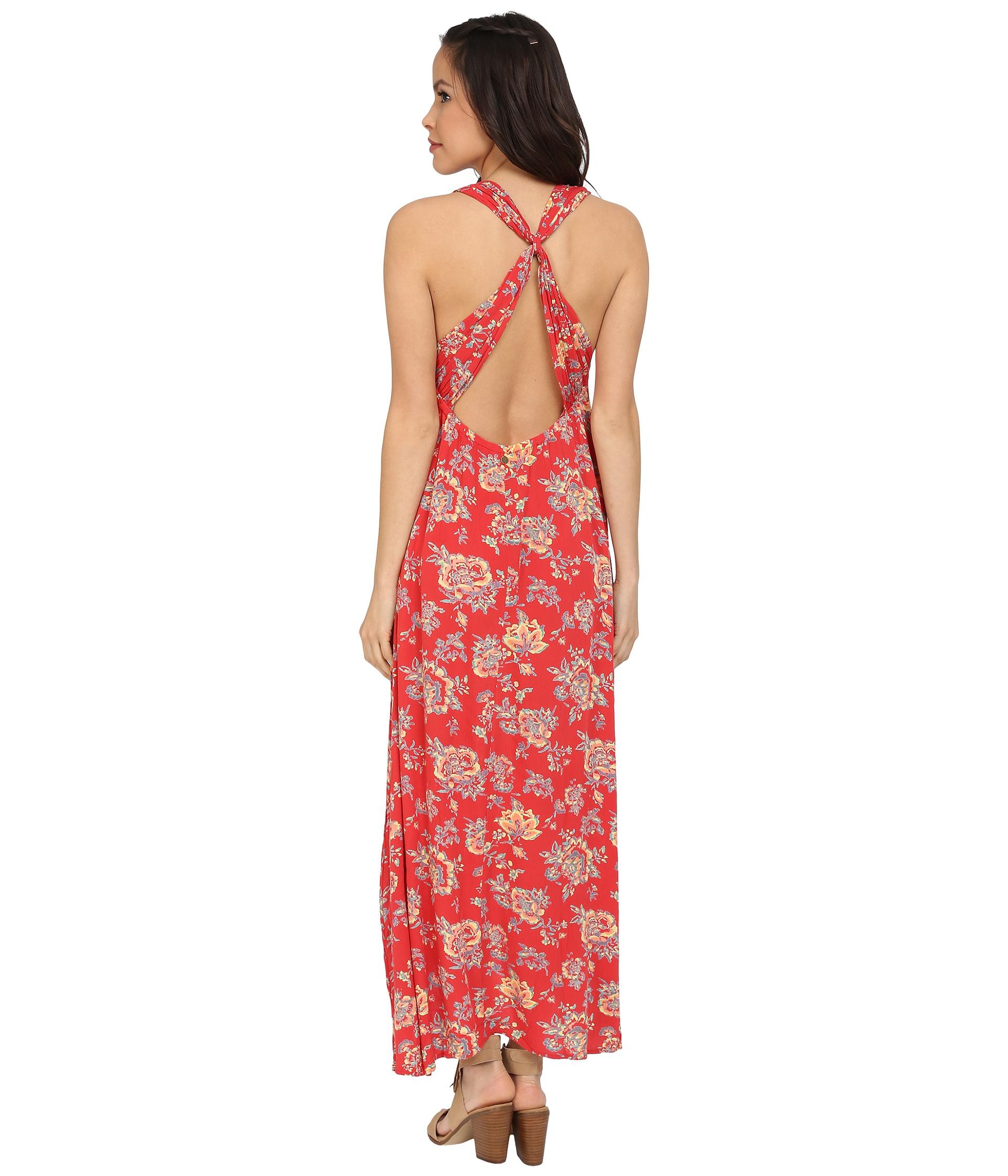 Billabong Beyond Golden Maxi Dress in Pink  Lyst