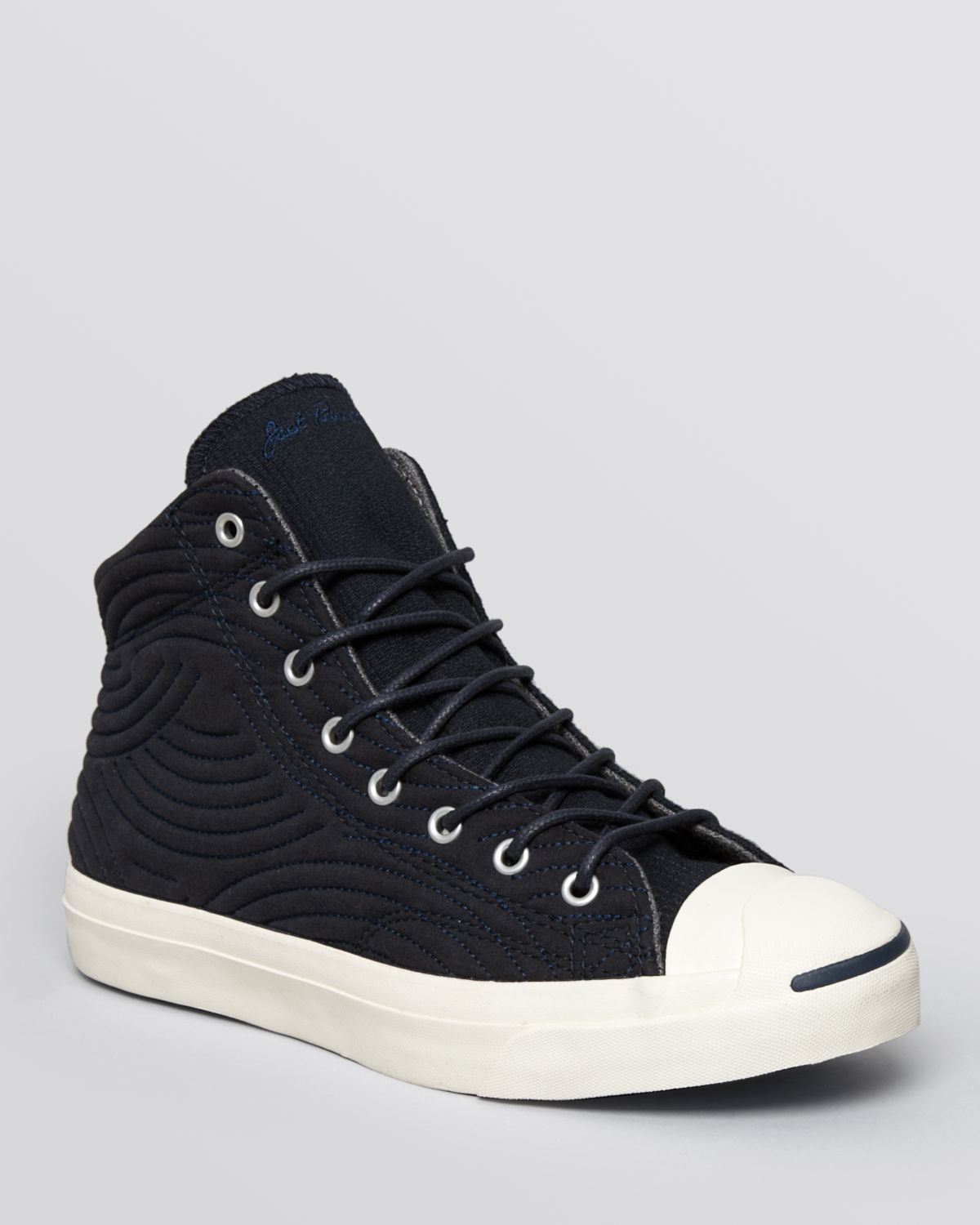 f9dd035765c110 Converse Jack Purcell Jack Mid Quilted Sneakers in Blue for Men - Lyst