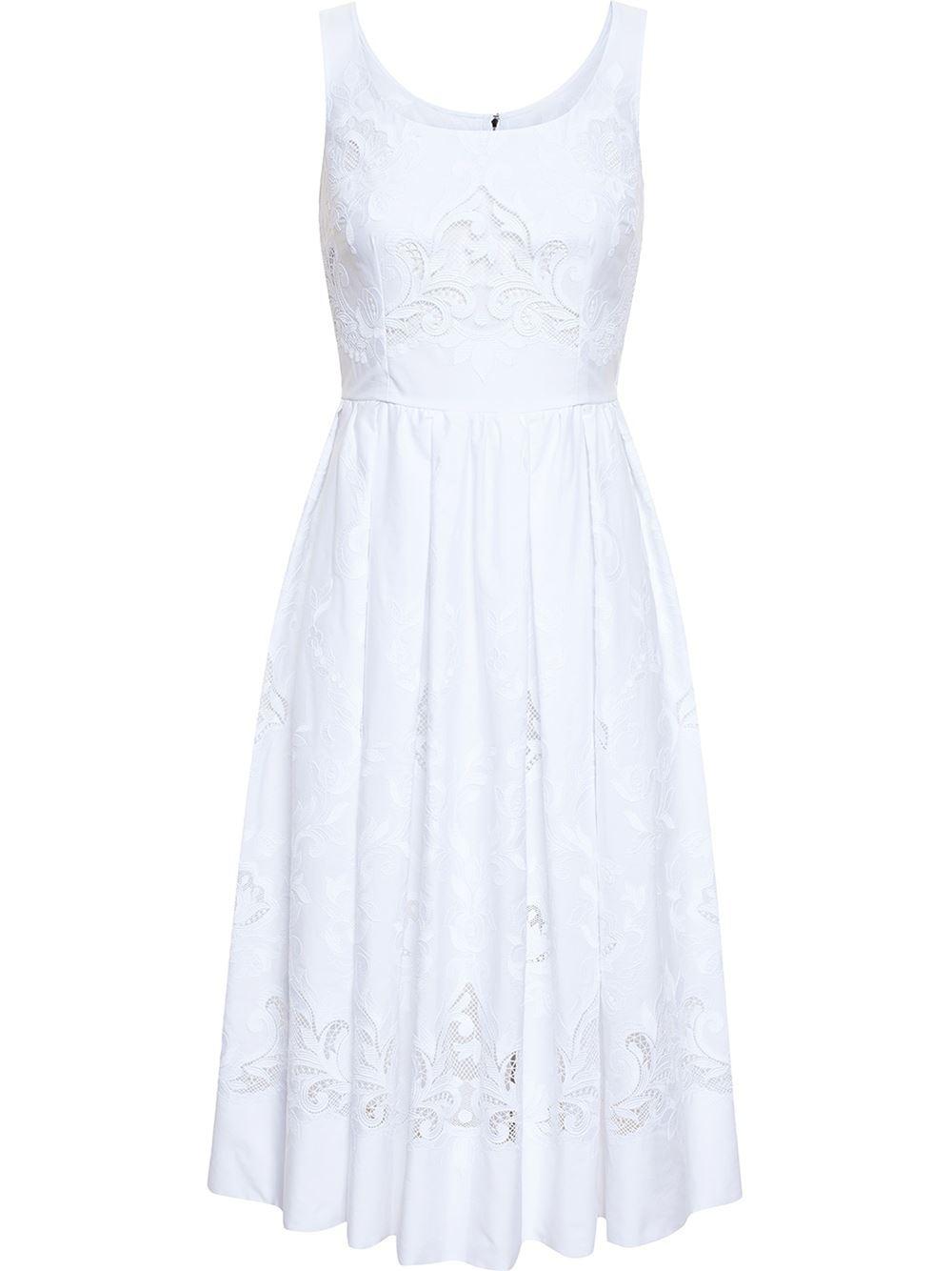 07f4da080f Dolce  amp  Gabbana Lace Cut-Out Dress in White