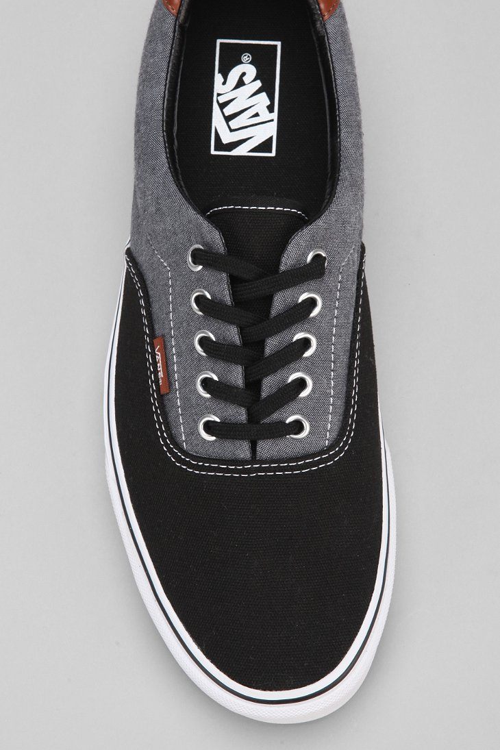 9e48ce21 Vans Black Era 59 Canvas Chambray Men'S Sneaker for men