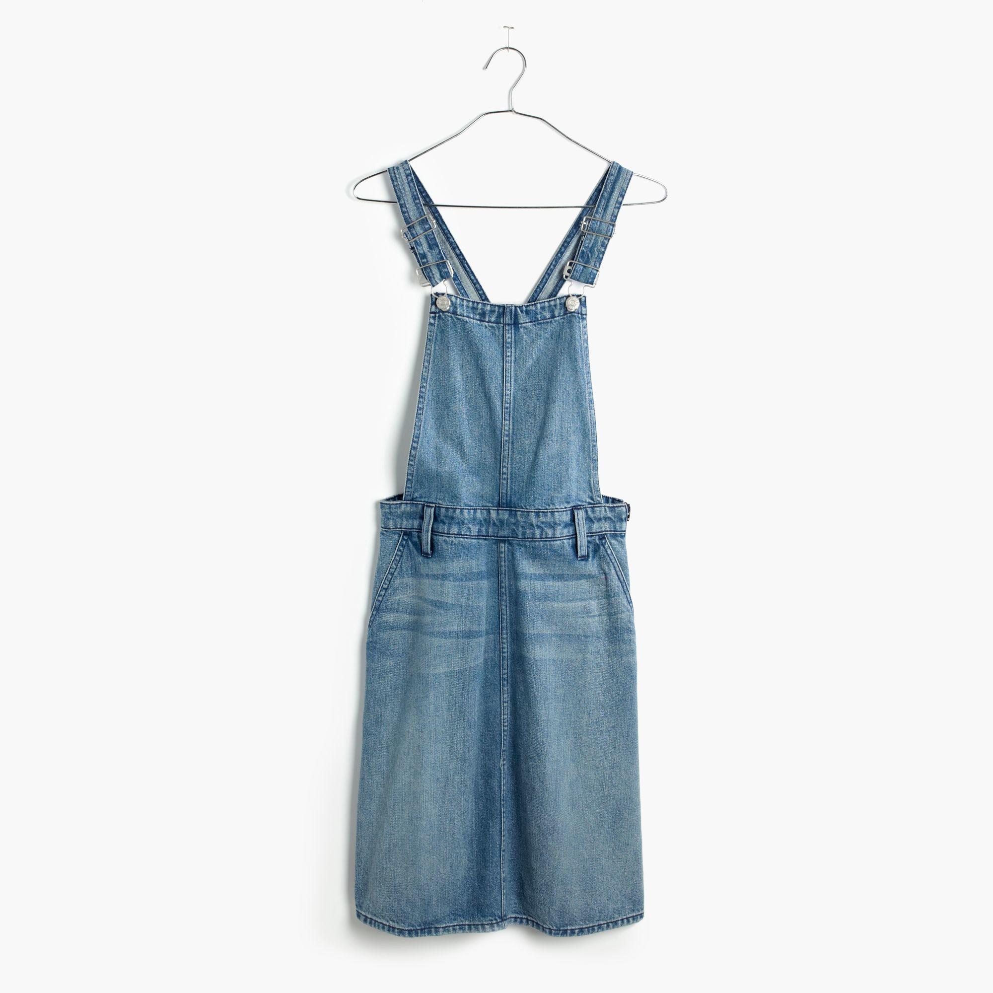 Innovative Rosetta Getty Womens Indigo Denim Jumper Dress