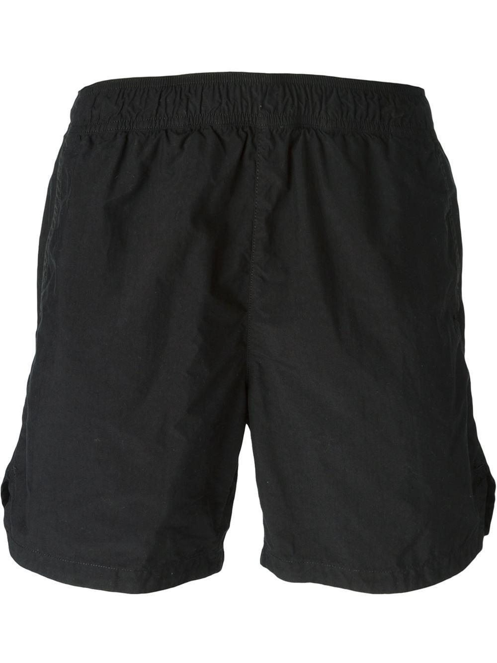 Stone Island Shadow Project Zip Pocket Swim Shorts in ...