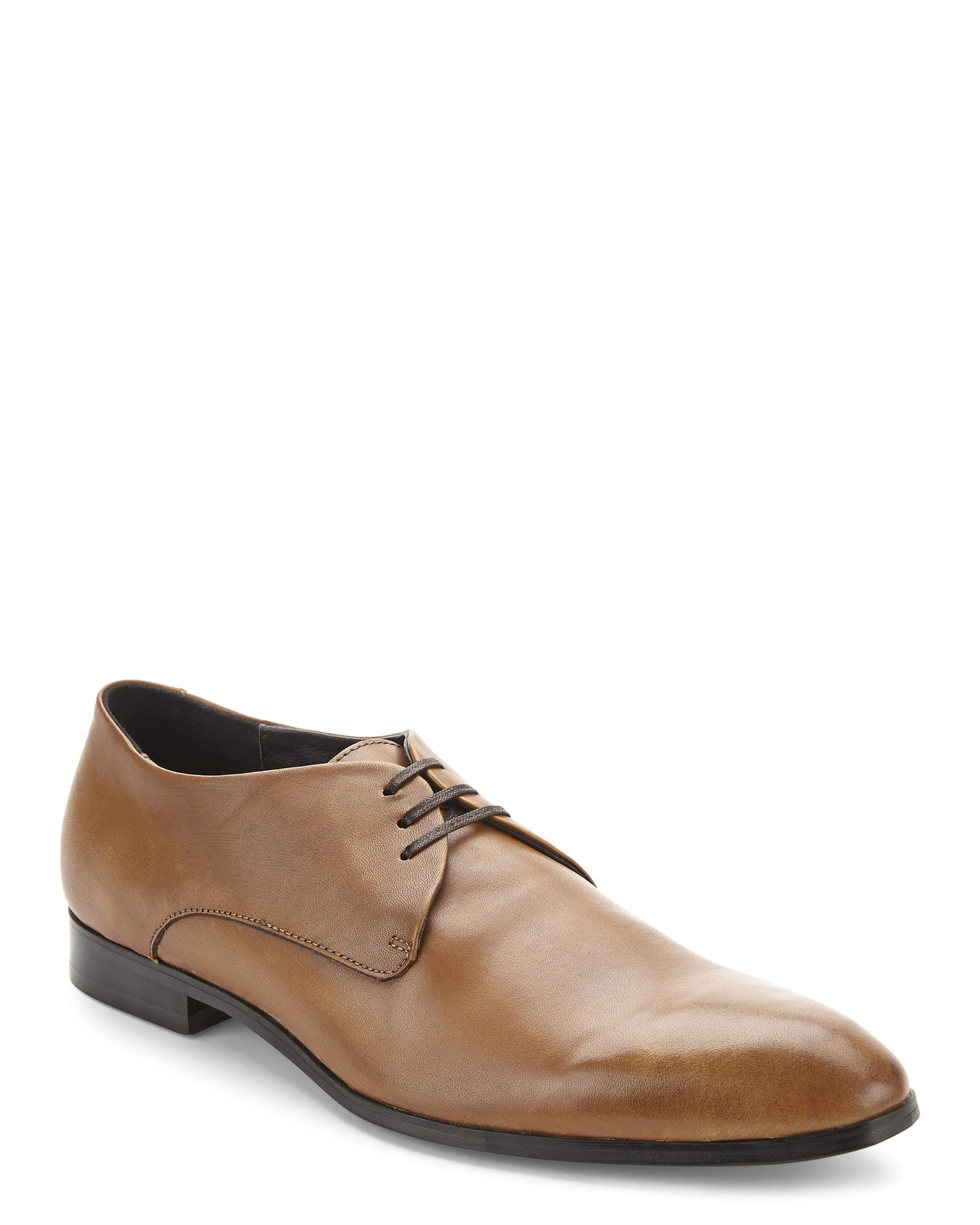Bacco Bucci Mens Cahill Black Leather Oxford