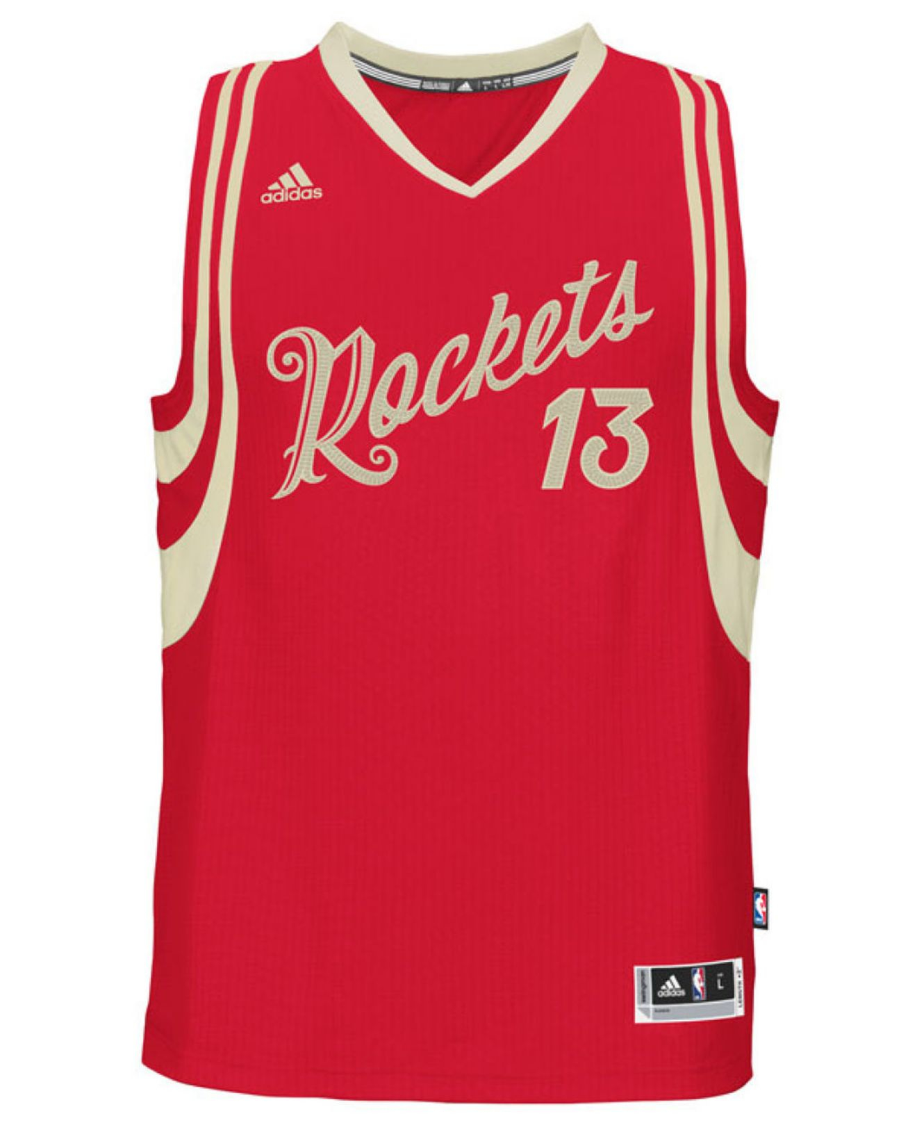 the latest 32f84 87d58 Adidas Red Men's James Harden Houston Rockets Christmas Day Swingman Jersey  for men