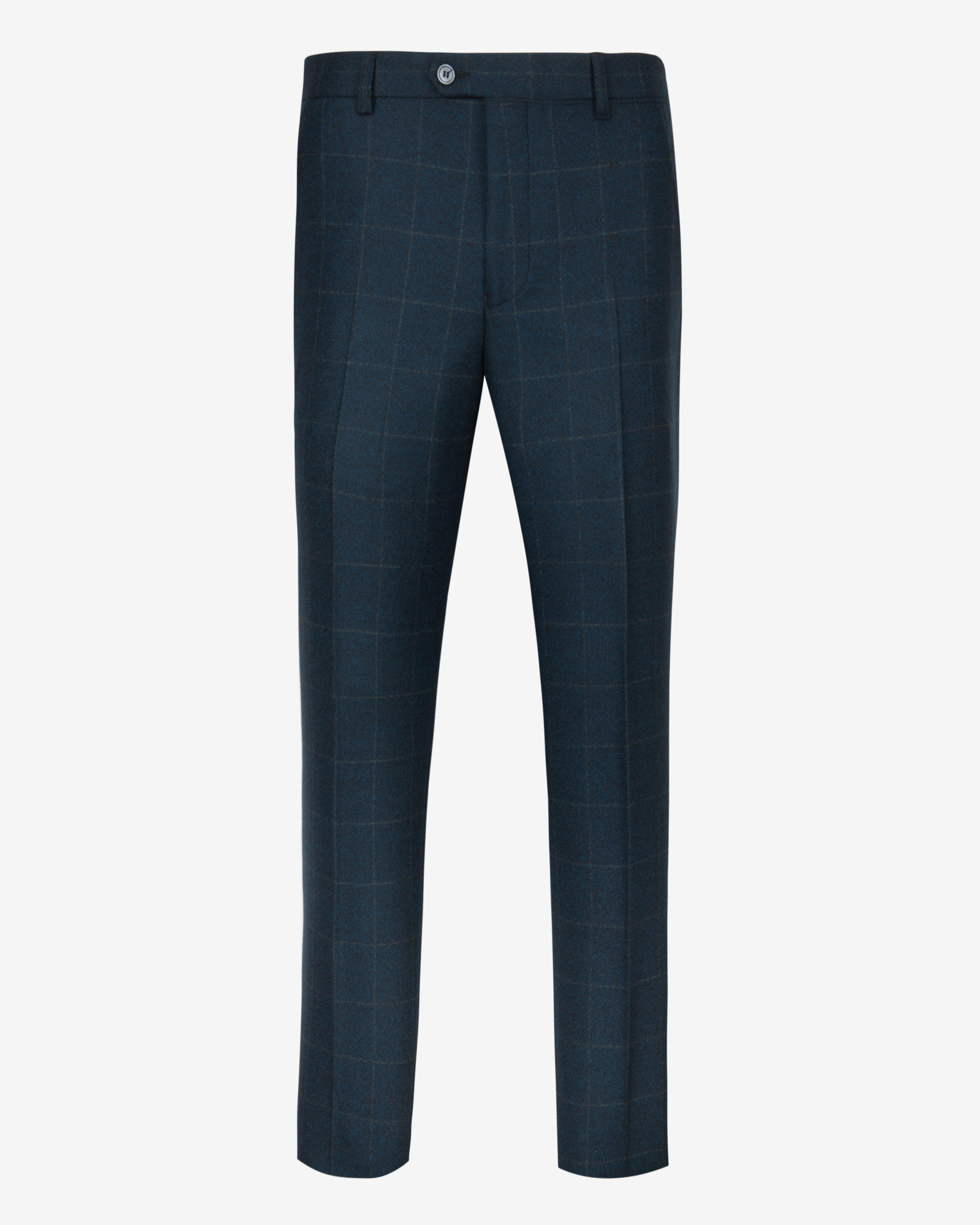 Debonair Checked Wool Suit Trousers Ted Baker Largest Supplier For Sale 8H8QzENl