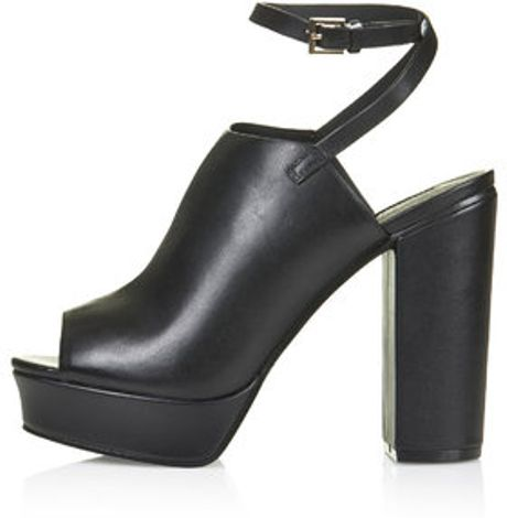 topshop sagittarius platform shoes in black lyst