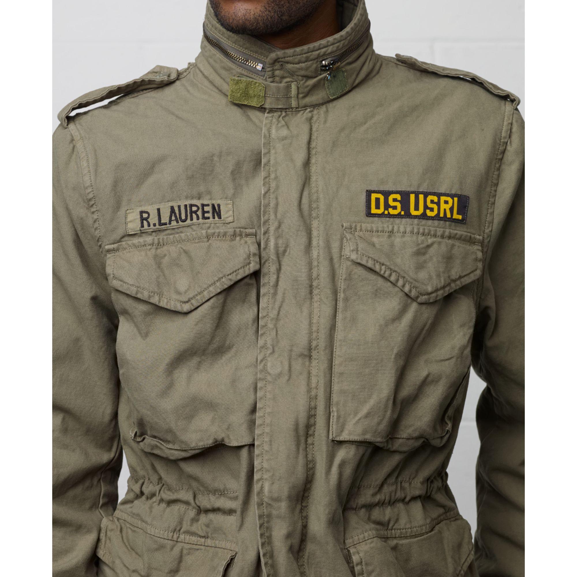 Lyst Denim Amp Supply Ralph Lauren Field Jacket In Green