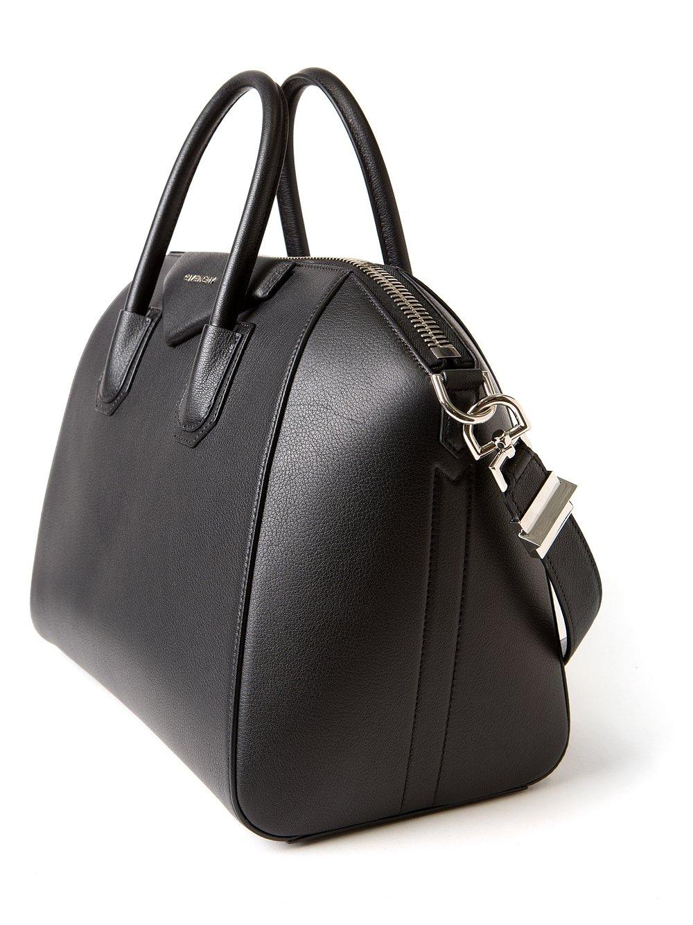 884820ed0124 Lyst - Givenchy Medium Antigona Bag in Black