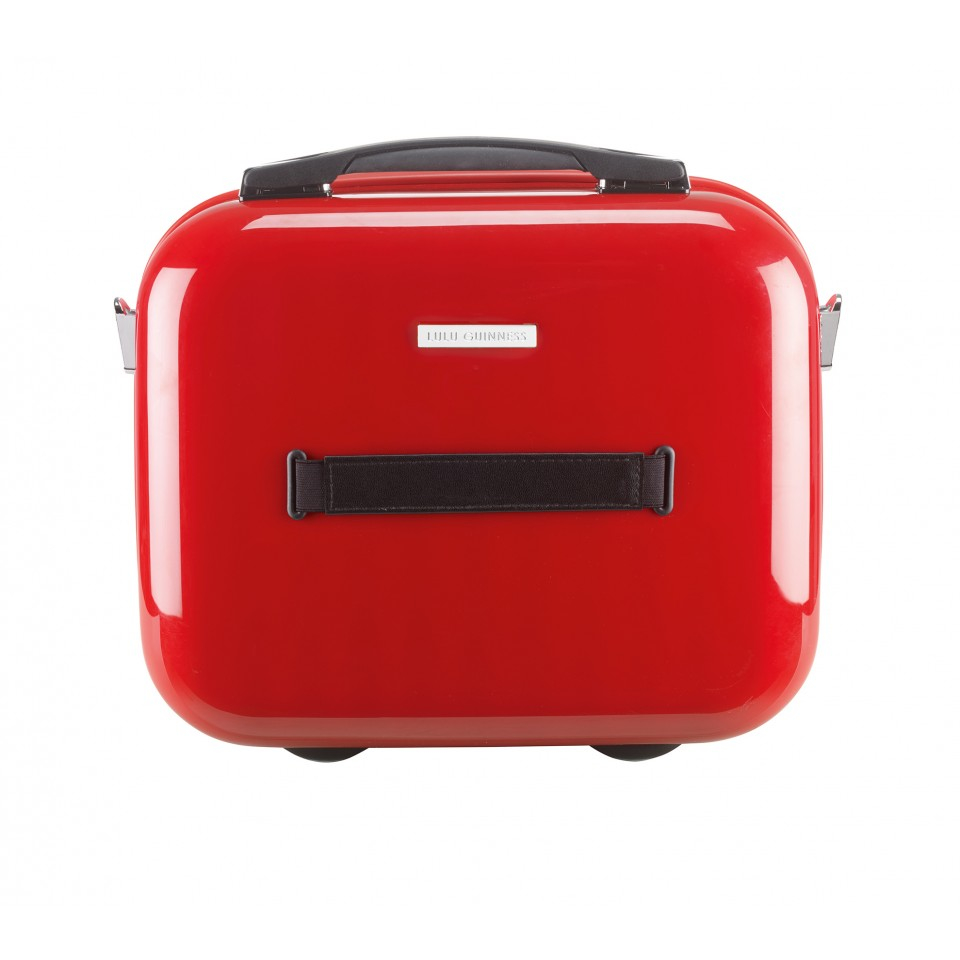 Lulu Guinness Red Hard Sided Lips Vanity Case In Red Lyst