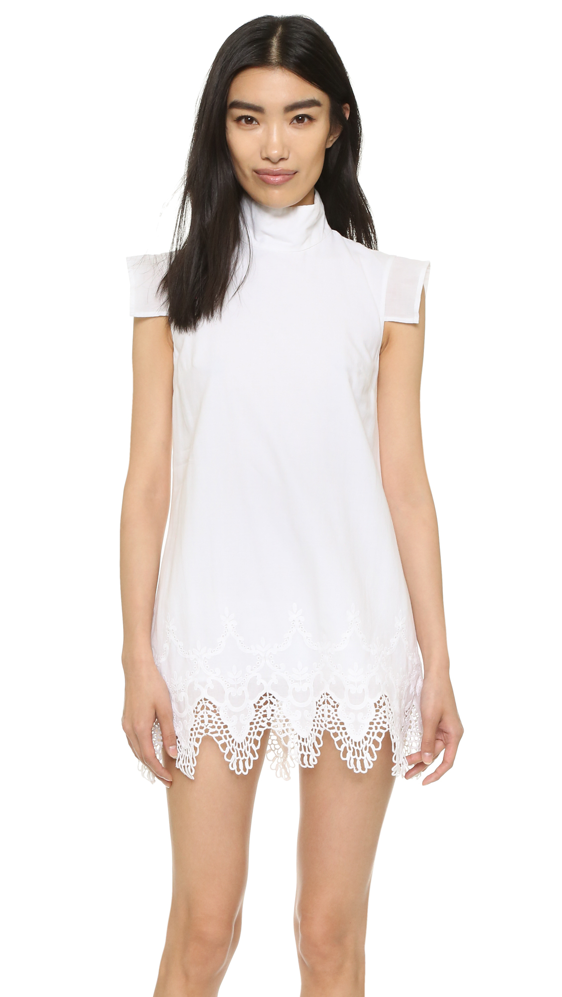 Mlm label Wandering Dress in White