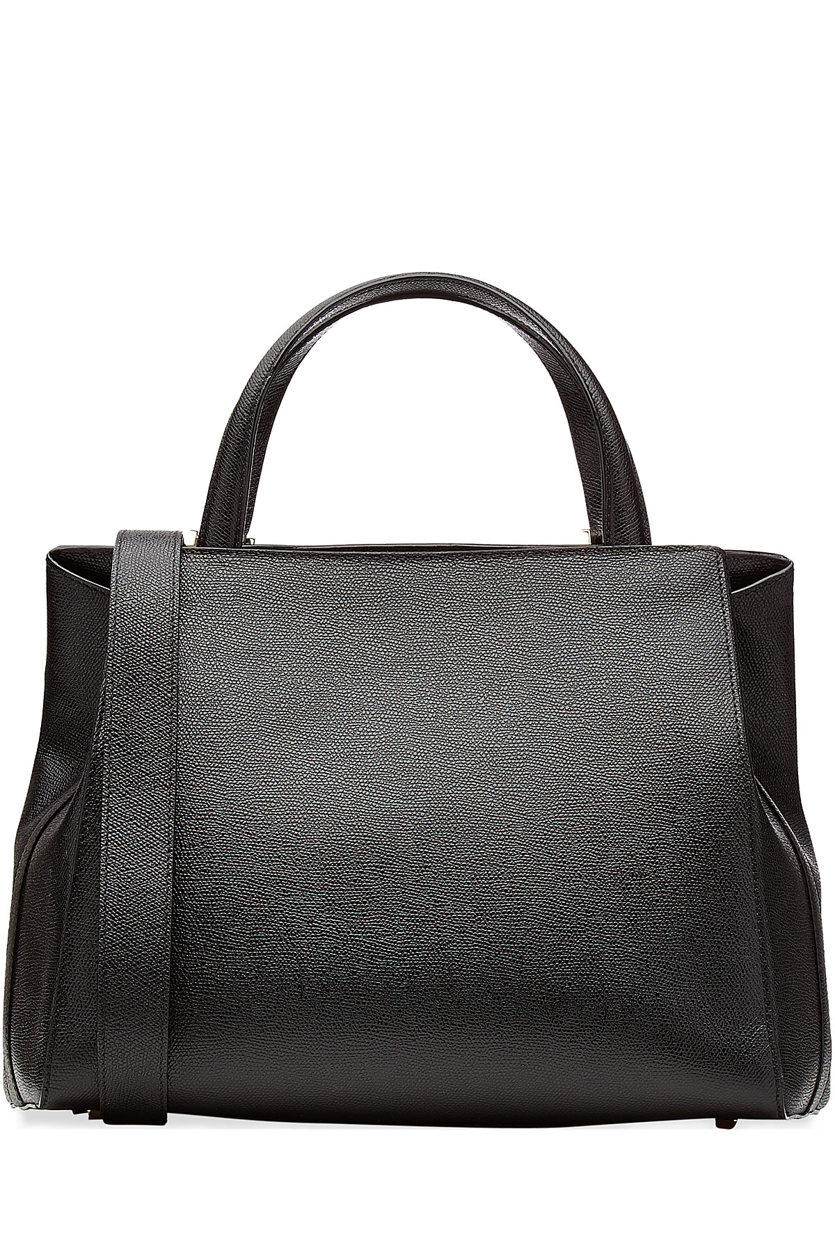 Lyst - Valextra Tranali Leather Tote