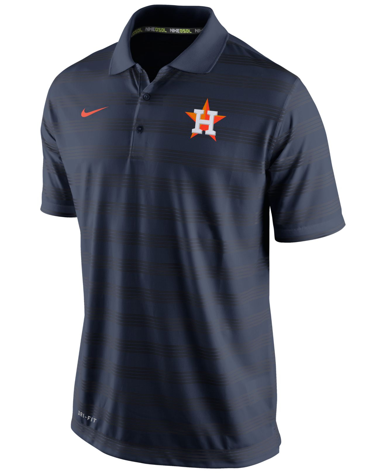 Nike Men 39 S Houston Astros Dri Fit Polo In Blue For Men Lyst