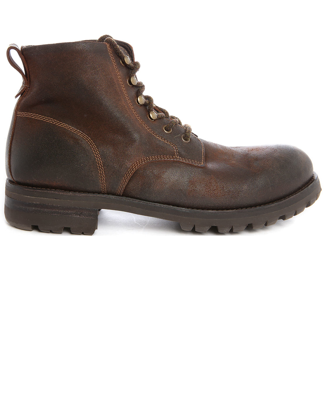 ndc steeve rangers beige brown suede boots in brown for