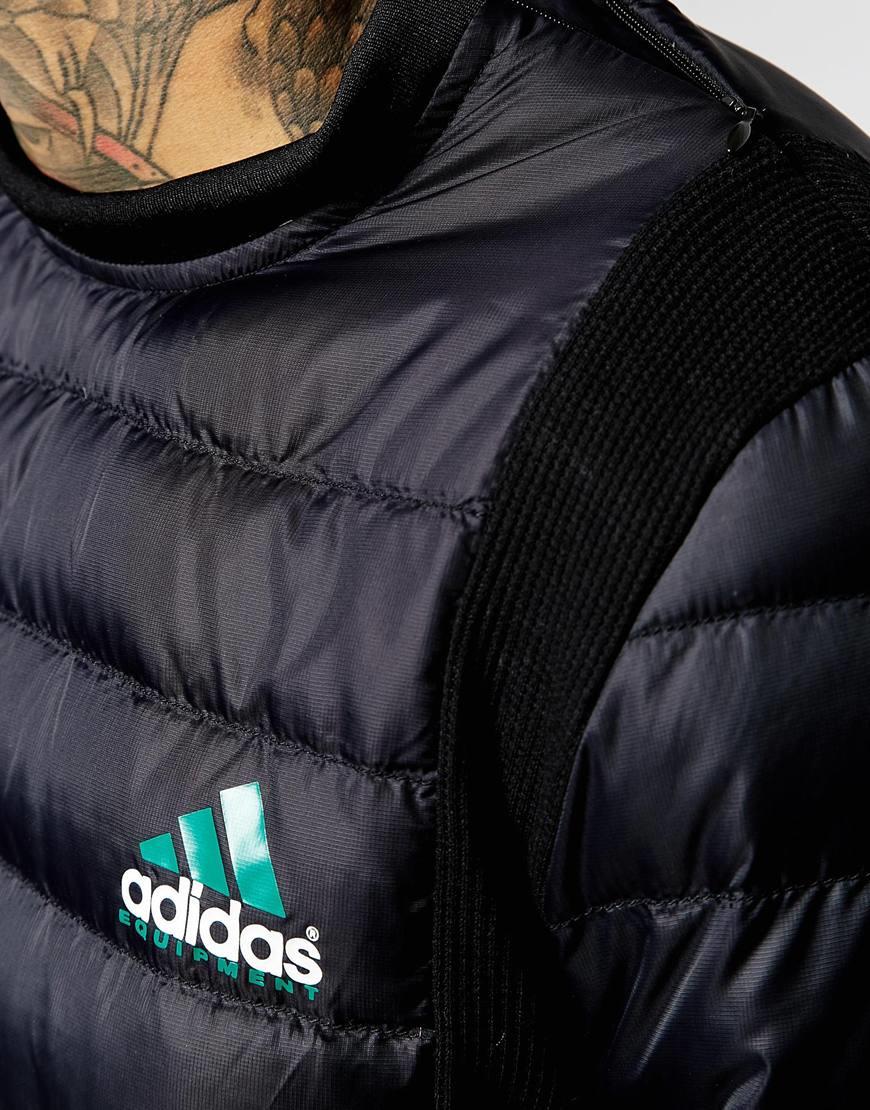 Adidas originals Equipment Quilted Sweatshirt Aj7339 in