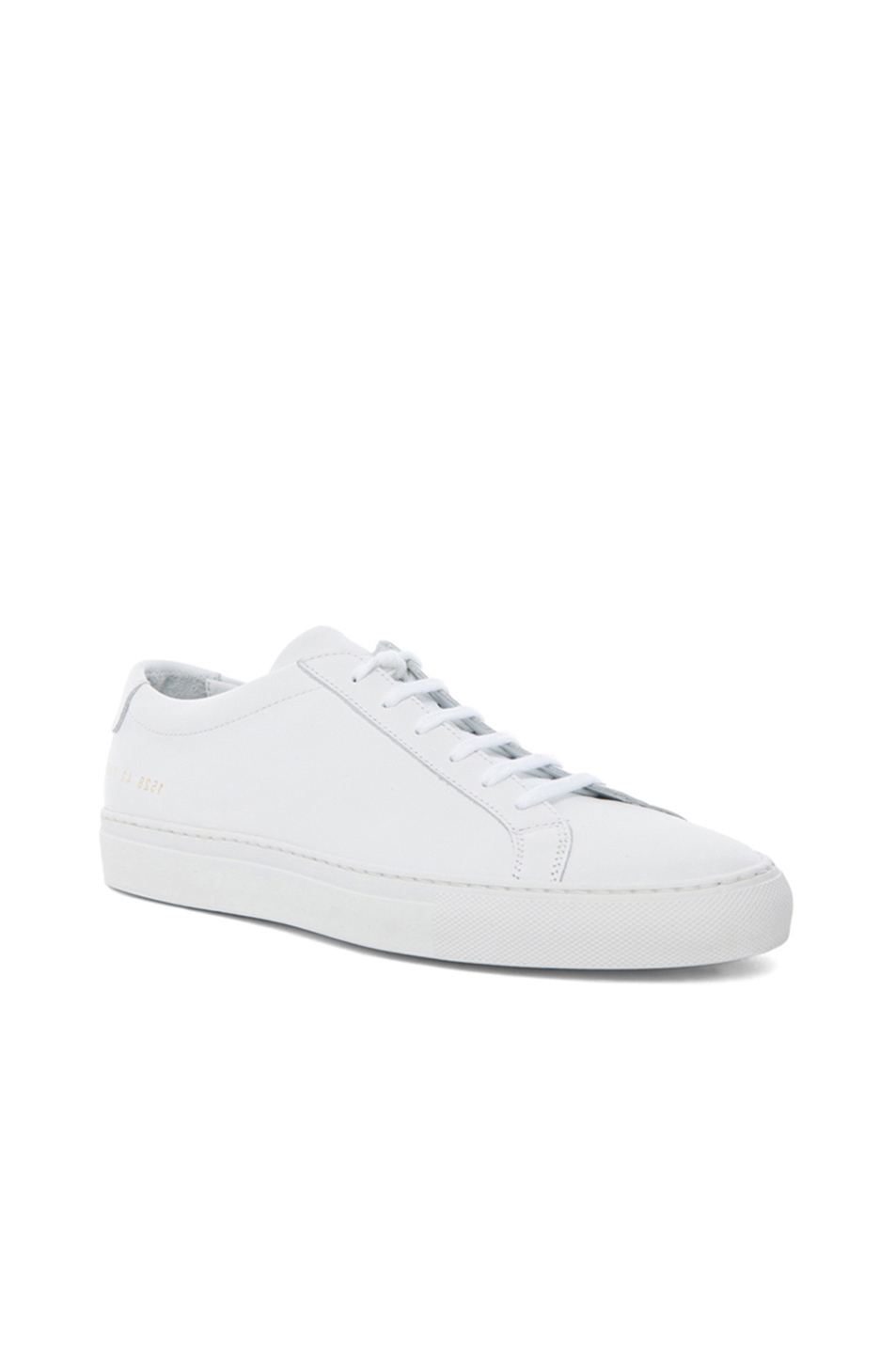 common projects original achilles leather low tops in white lyst. Black Bedroom Furniture Sets. Home Design Ideas