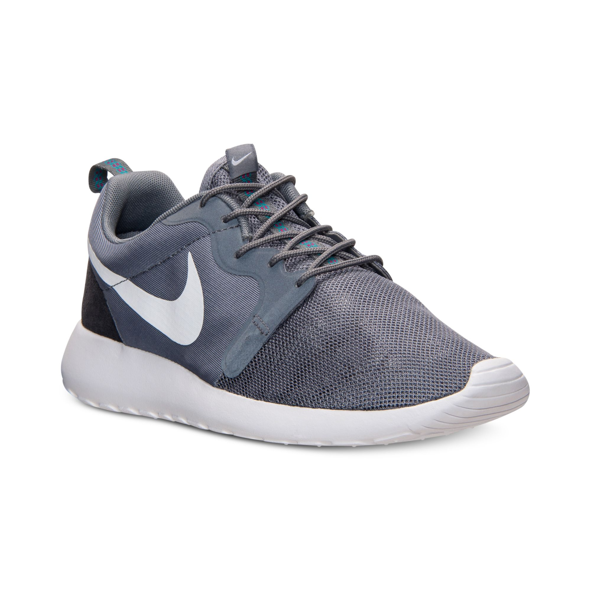 Mens Nike Roshe Run Suede Casual Shoes