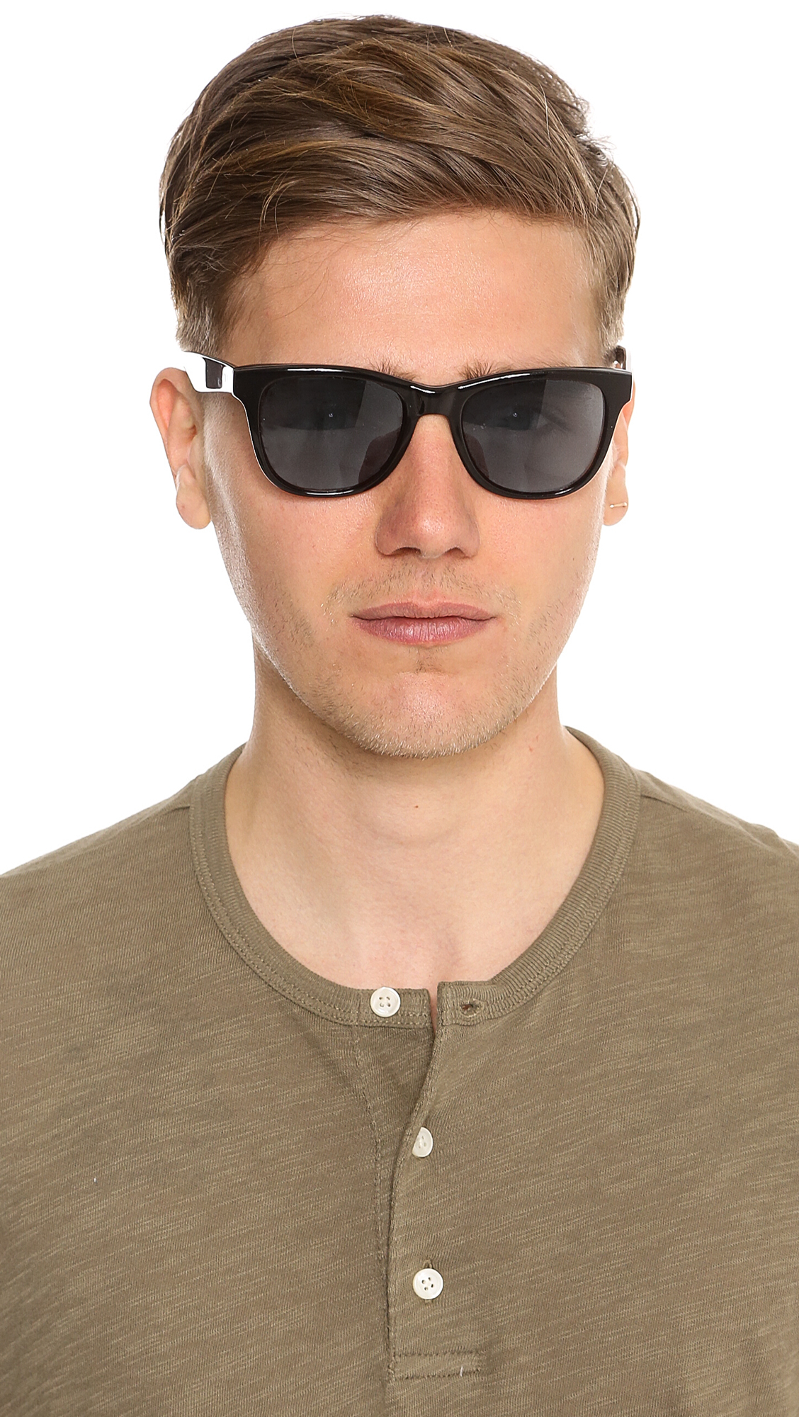 Lyst - Paul Smith Berman Polarized Sunglasses in Black for Men