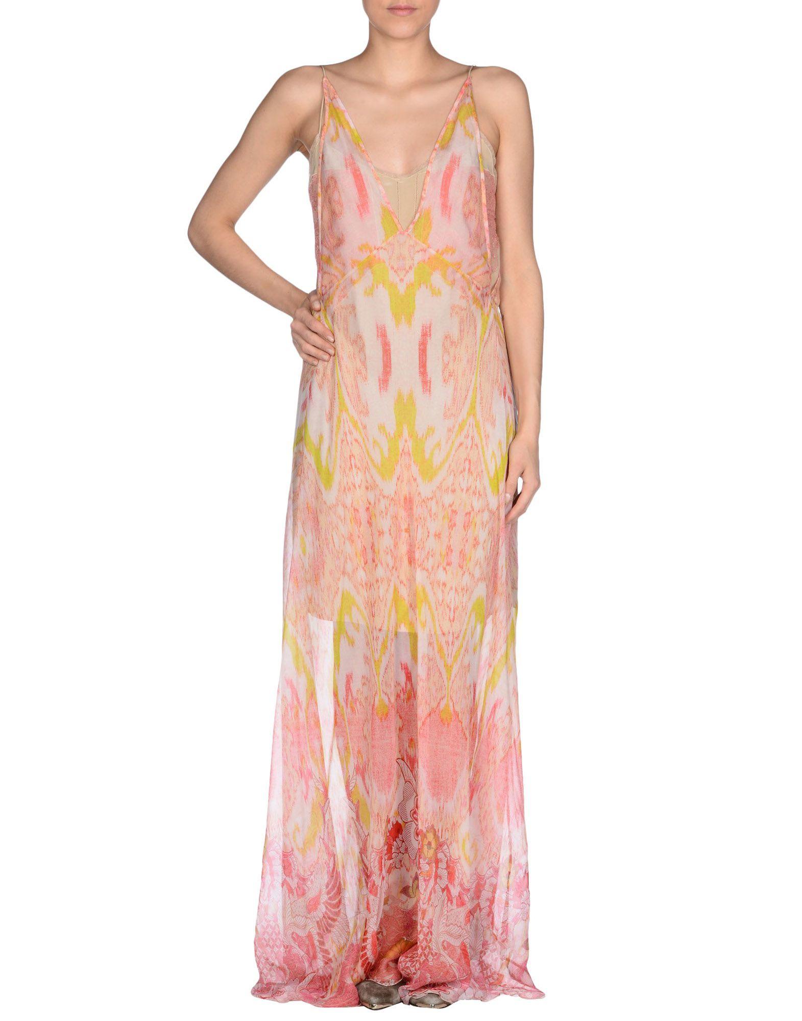 ROBERTO CAVALLI レディース DRESSES 送料無料 Turquoise Long dress