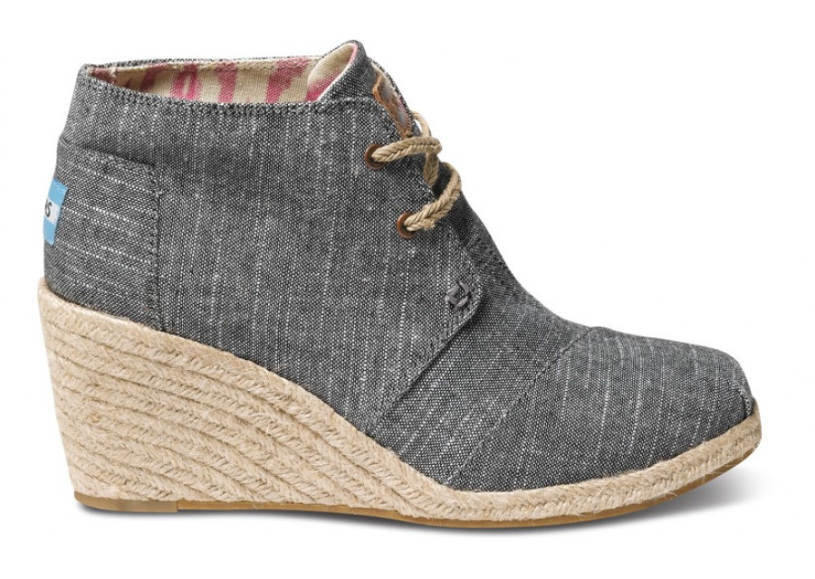 how to clean toms wedges