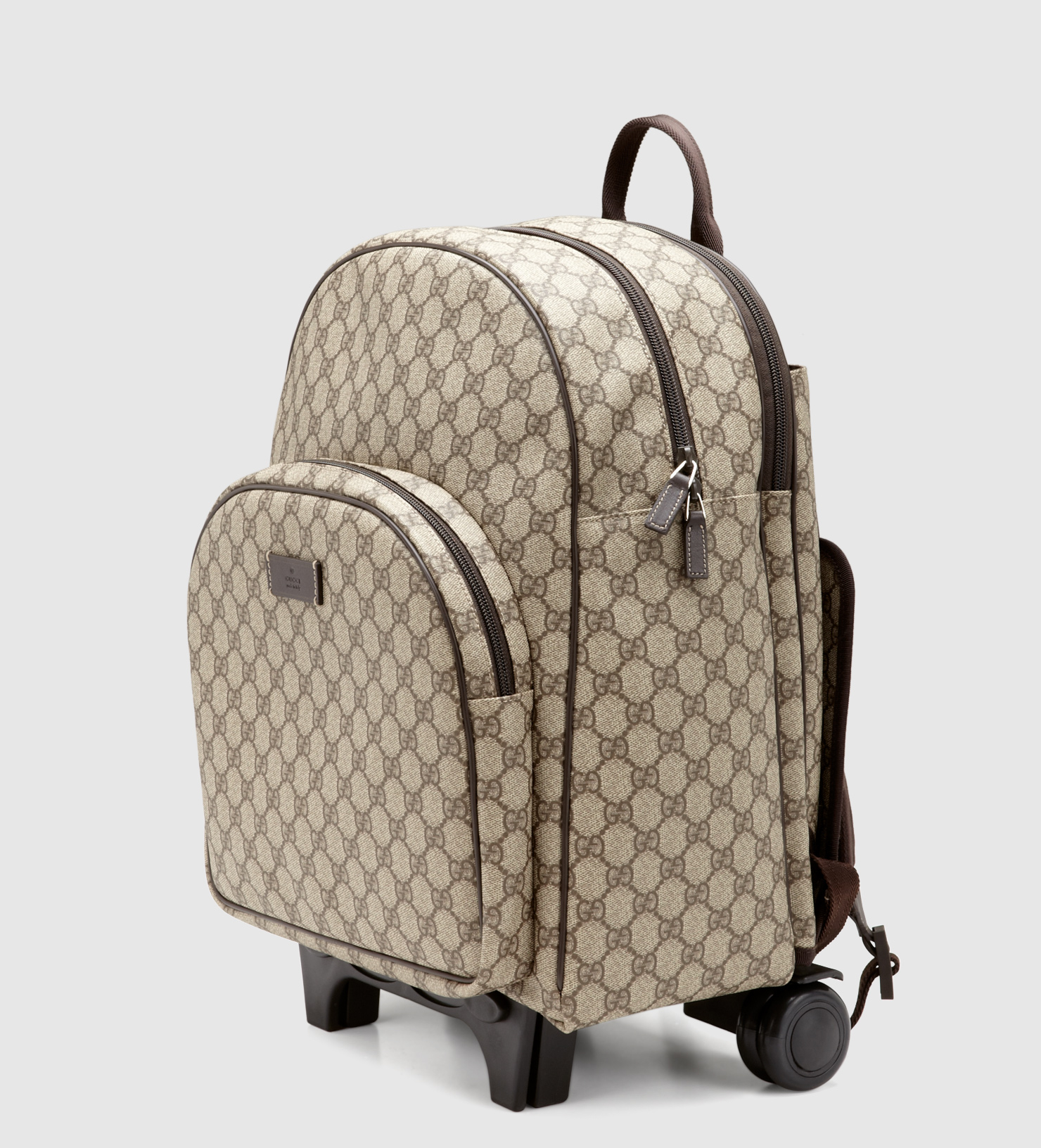 5a57c97b2811 Gucci Kid s Gg Supreme Canvas Trolley Backpack in Natural for Men - Lyst