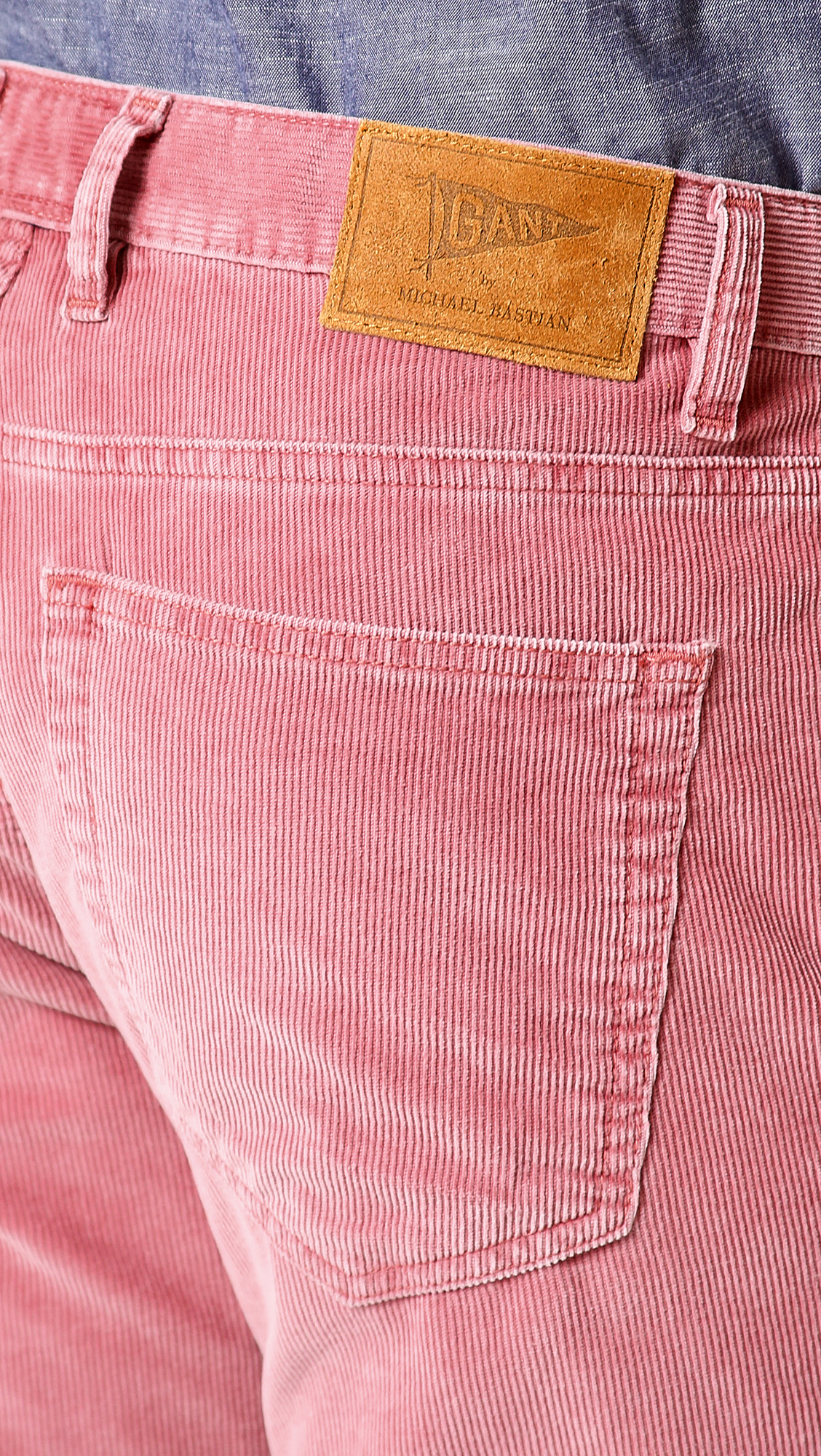 Gant Mb 5 Pocket Corduroy Pants in Pink for Men | Lyst