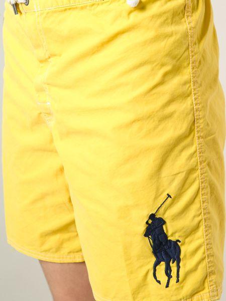 Yellow Polo Logo Polo Ralph Lauren Logo