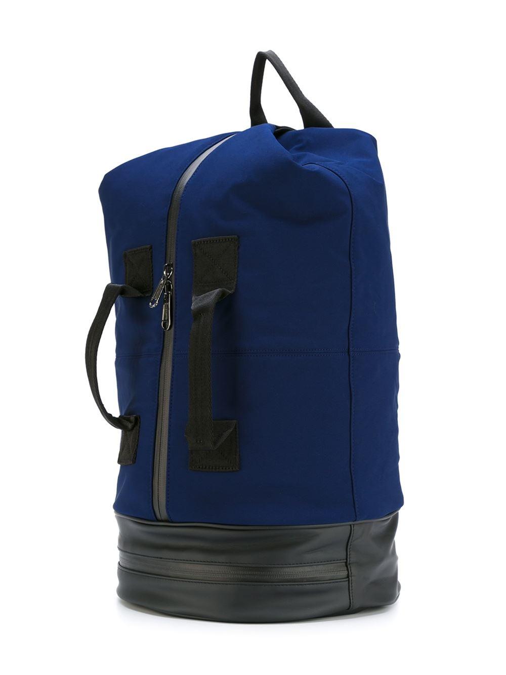 adidas by stella mccartney sports backpack in black lyst. Black Bedroom Furniture Sets. Home Design Ideas